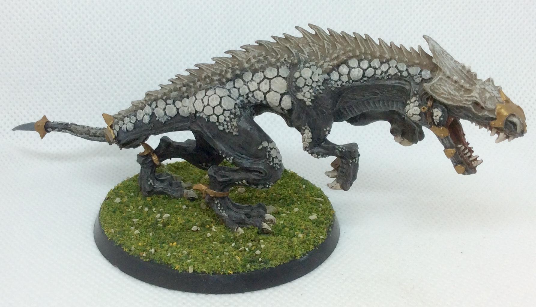 Carnosaur, Dinosaur, Lizardmen, Warhammer Fantasy