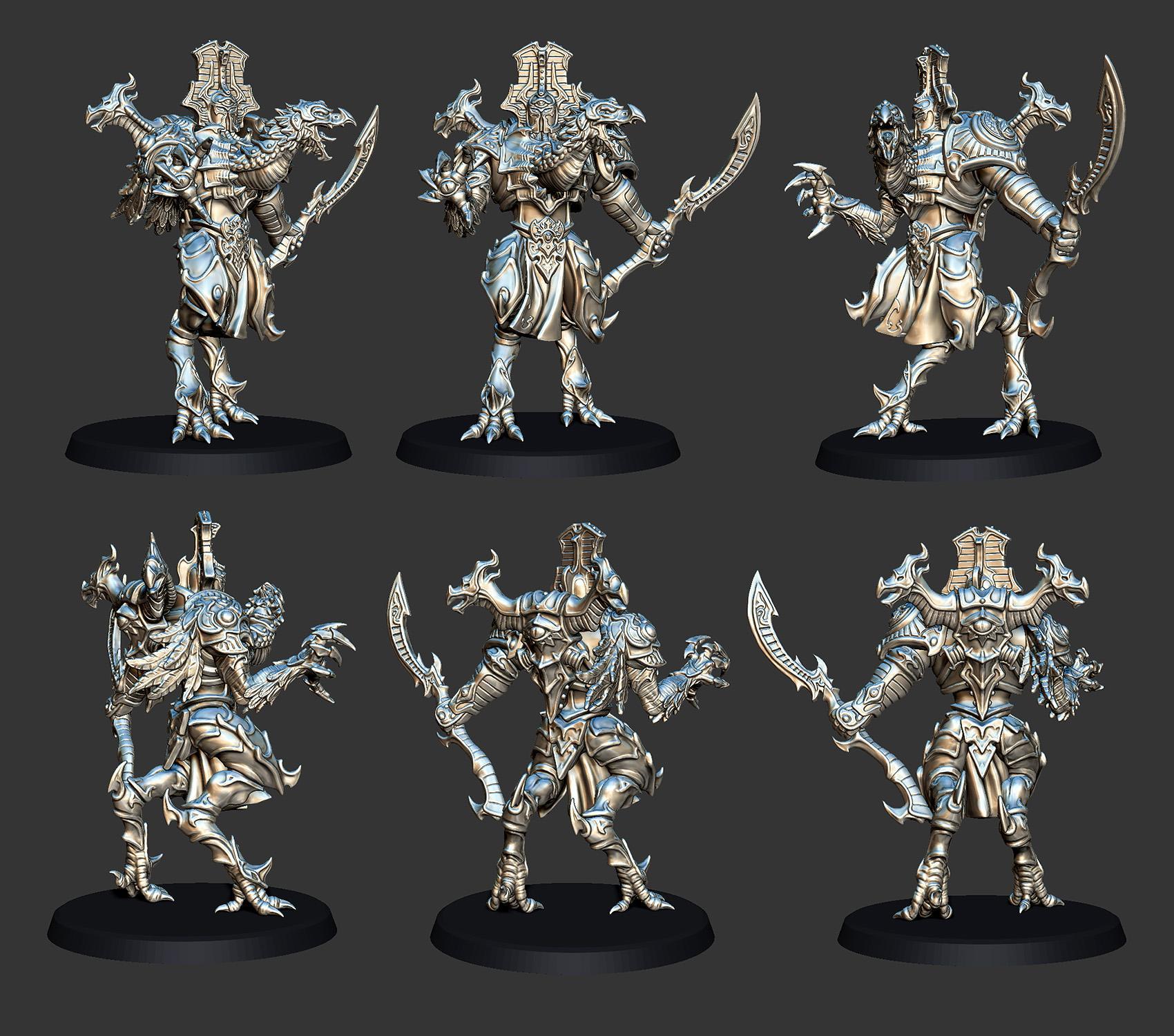 Custom Thousand Sons Daemon Prince