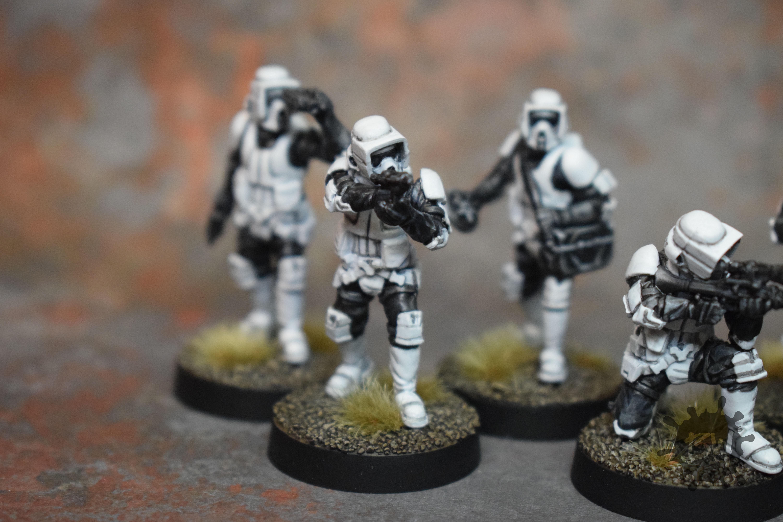Bw, Ffg, Scout Troopers, Star Wars Legion