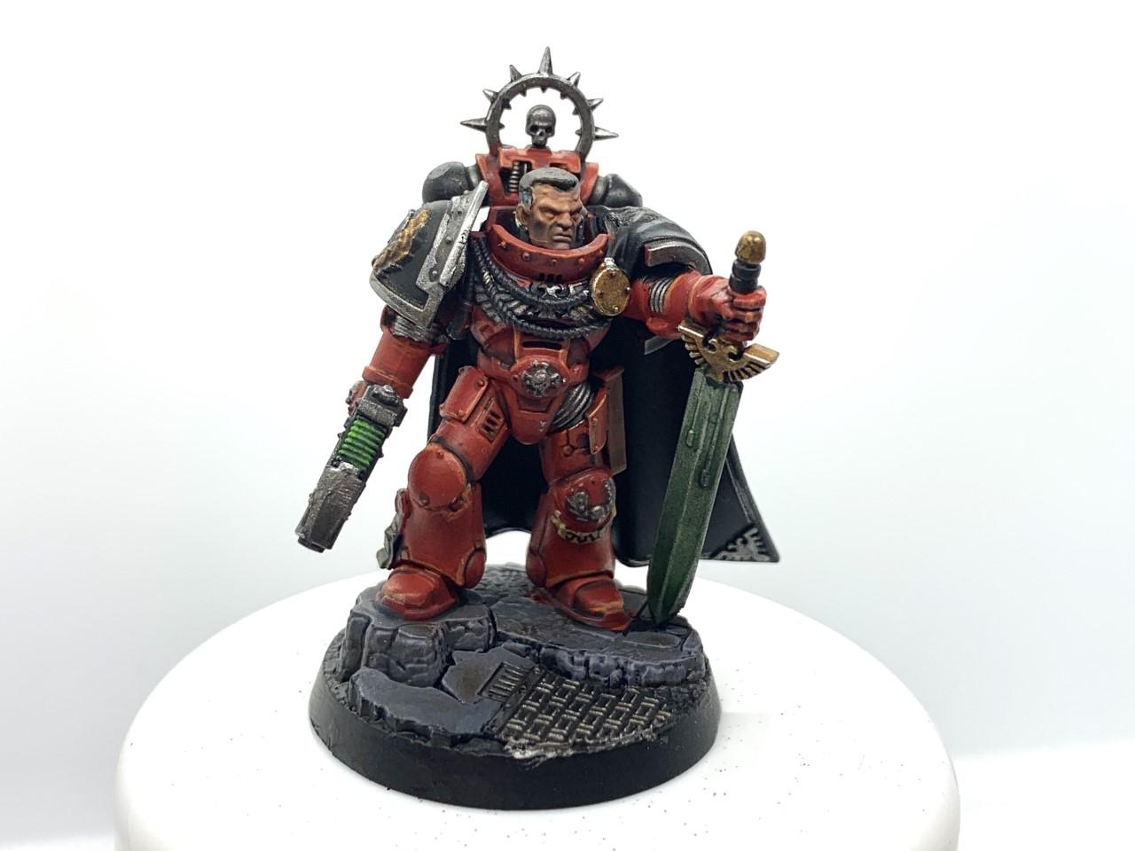 Brothers Penitent, Brothers Penitent Space Marines, Captain, Chapter, Mk Vii Armor, Space Marine Heroes, Warhammer 40,000