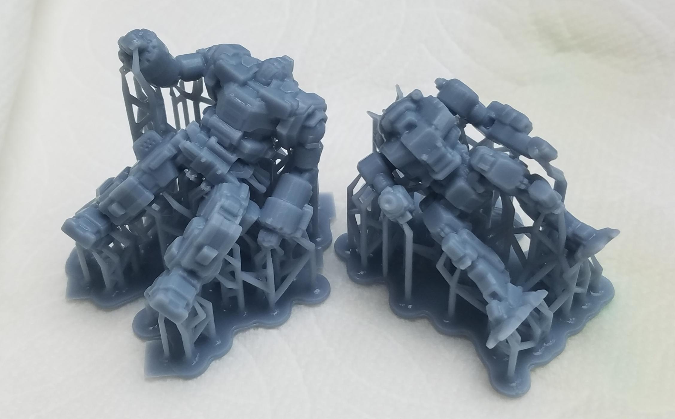 3d Printed, Anycubic, Battletech, Crusader, Mech, Photon, Vindicator