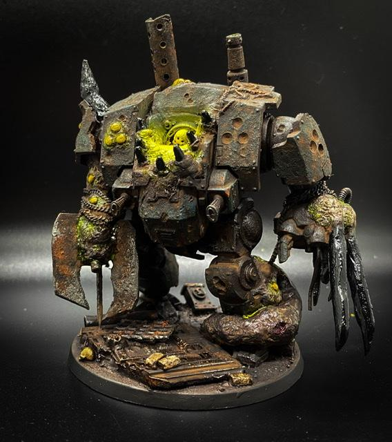 Chaos Space Marines, Decay, Dreadnought, Nurgle, Rust
