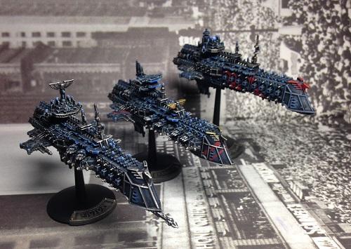 Battlefleet Gothic, Imperial Navy cruisers