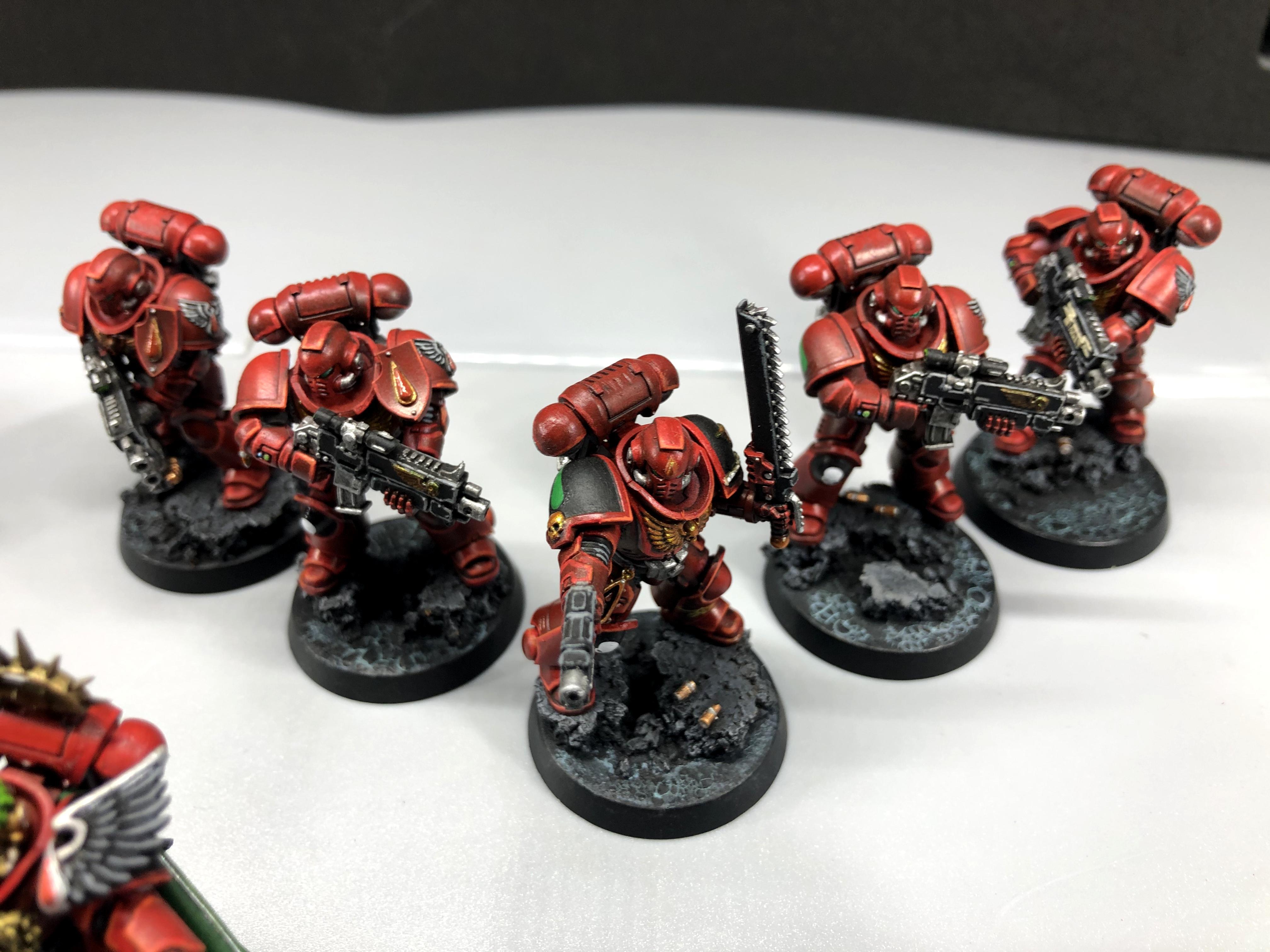 Blood Angels, Intercessors, Primaris, Primaris Marines, Space Marines, Warhammer 40,000, Warhammer Fantasy