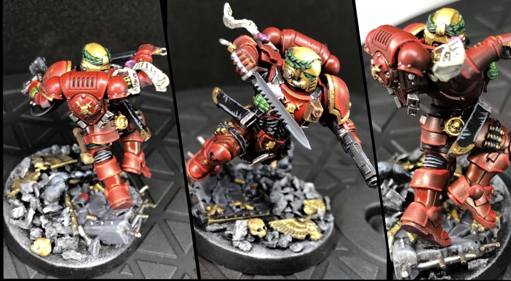 Blood Angels, Lieutenant, Phobos, Primaris, Primaris Marines, Space Marines, Urban, Warhammer 40,000, Warhammer Fantasy
