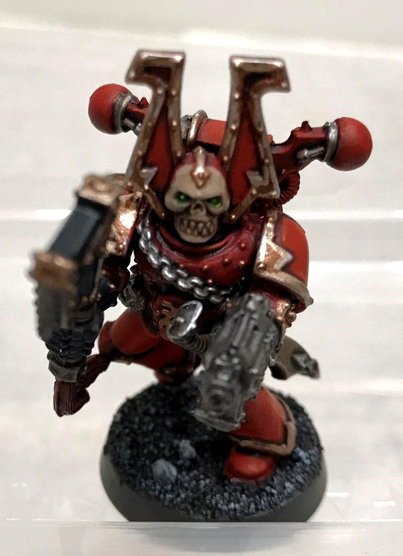 2020, Back In The Hobby, Batch Painting, Glowing Eyes