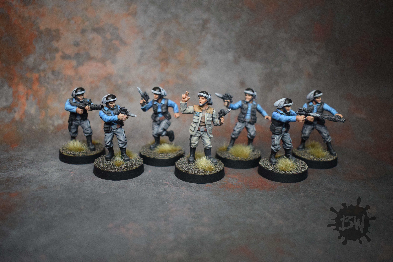 Bw, Ffg, Fleet Troopers, Star Wars Legion