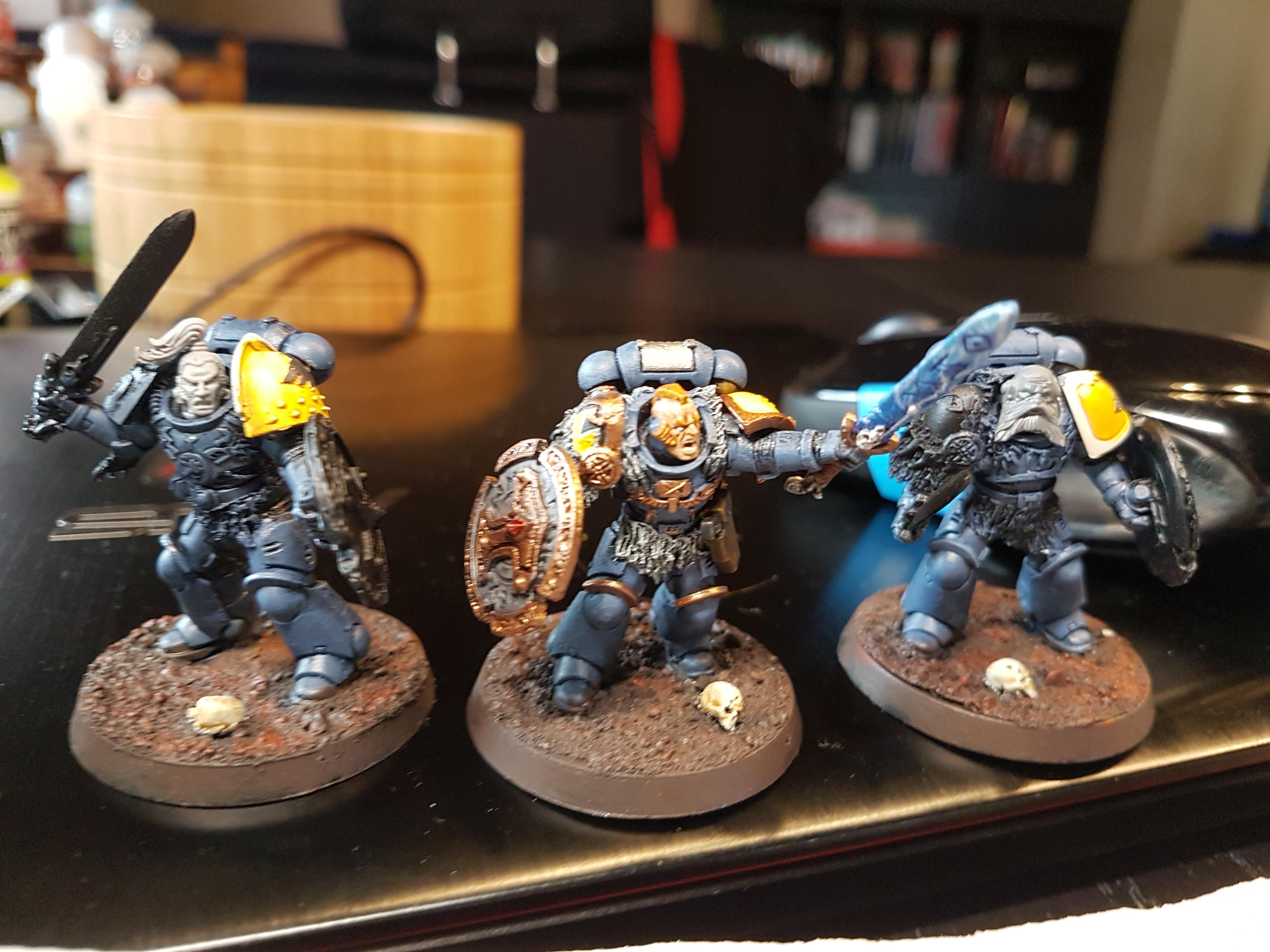 Primaris Judicar, WIP Space Wolves Bladeguard