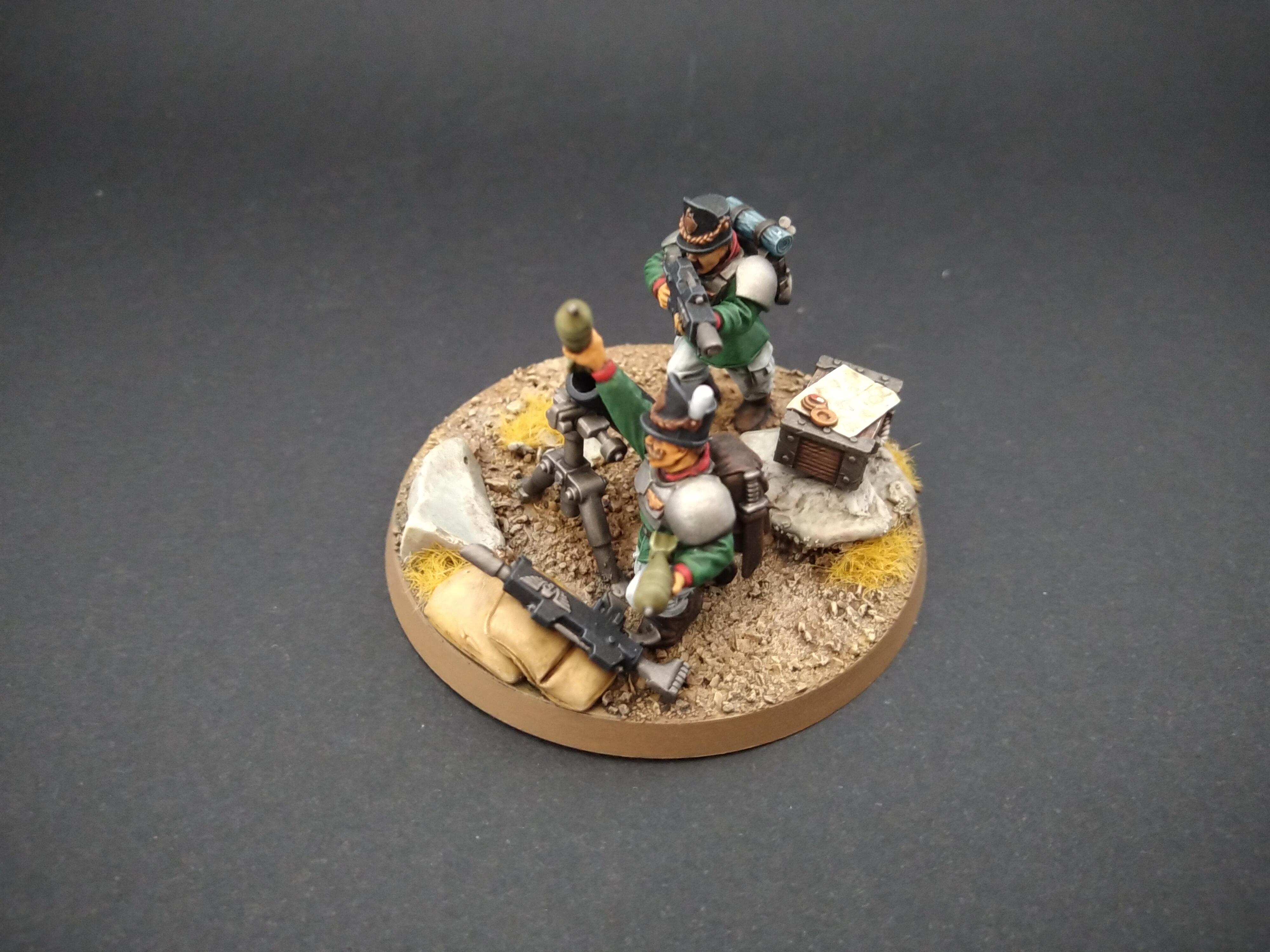 19th Century, All Troop Army, Astra Militarum, Imperial Guard, Mortar, Warhammer 40,000
