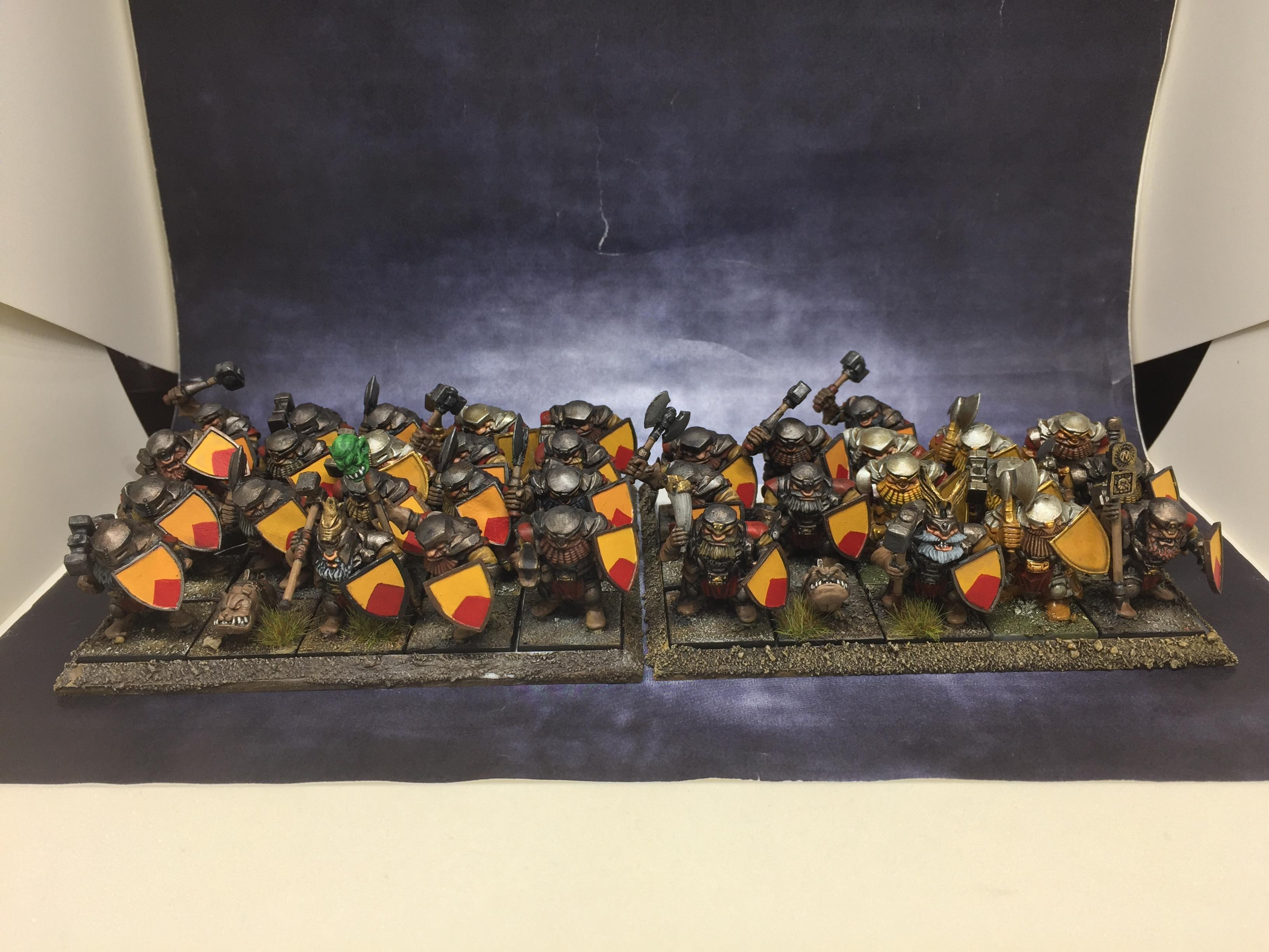 August 2020, Dwarves, Kings Of War, Mantic