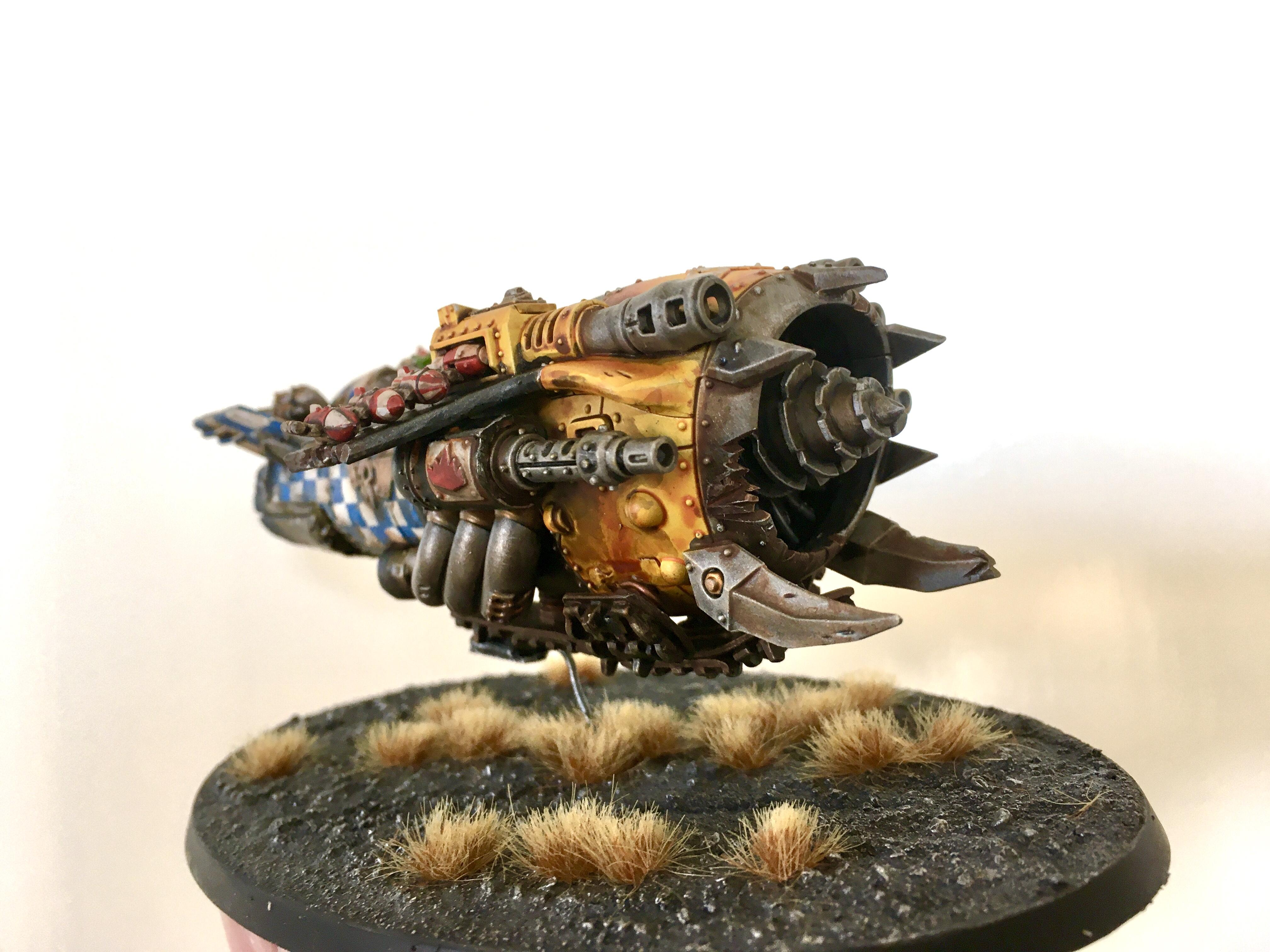 Drill, Flyer, Orks