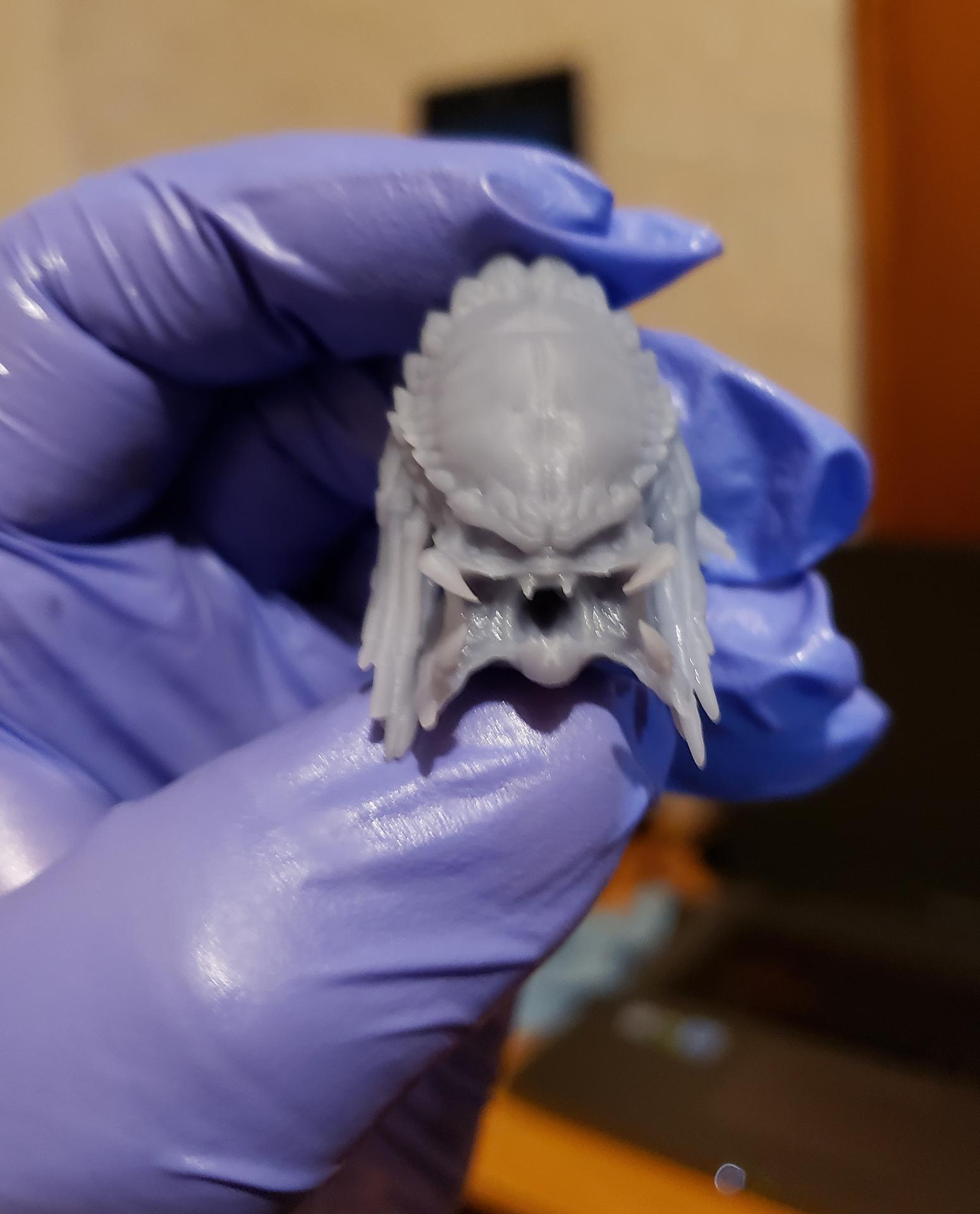 3d Print, 3d Printing, Airbrush, Anycubic Photon, Dlp, Gambody, Monster, Movie, Photon, Predator, Resin, Sla, The Predator, Water Effect, Water Effects, Yautja