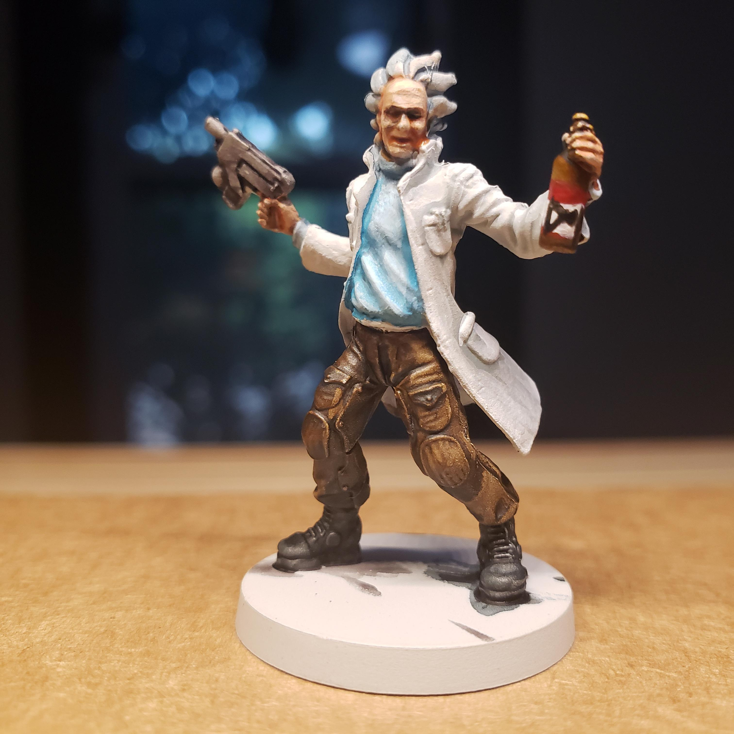 Mad, Rick And Morty, Scientist