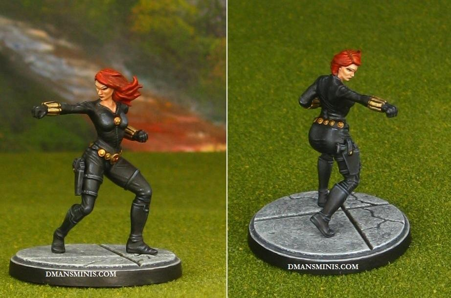 Black Widow, Crisis Protocol, Margel, Superhero