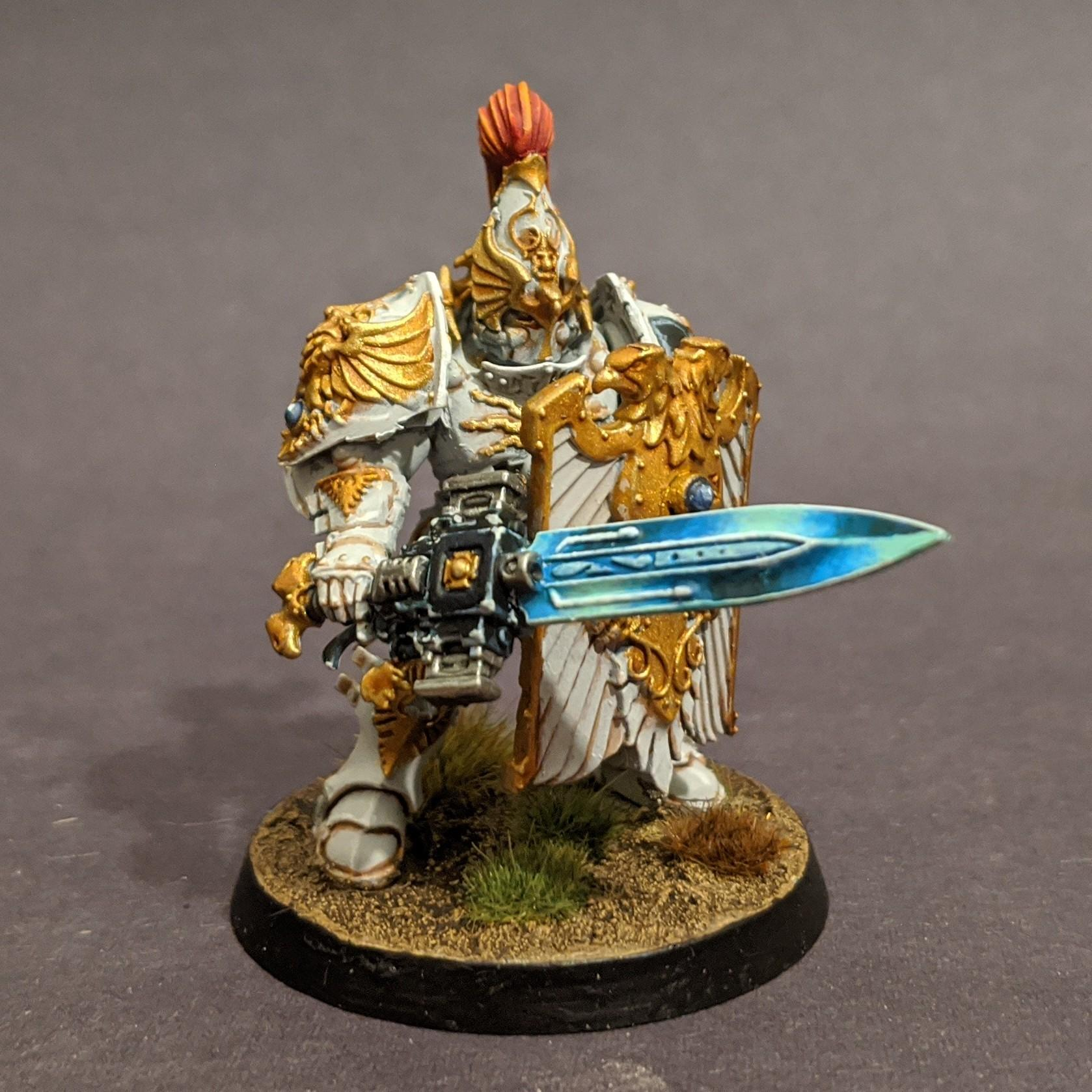 Blue Power Sword, Custodes, Power Sword, Sentinel Blade, Solar Watch