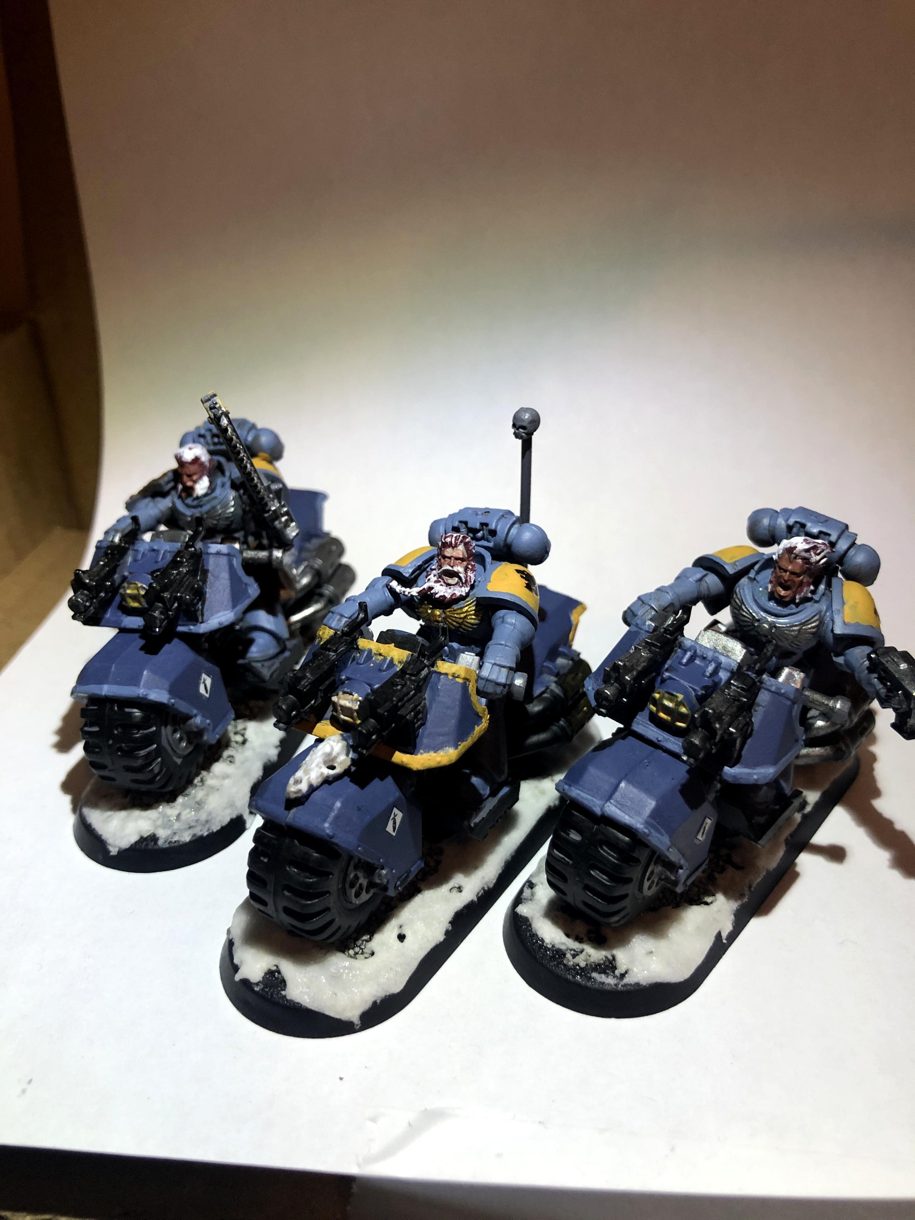 Assault, Bike, Space Wolves, Warhammer 40,000