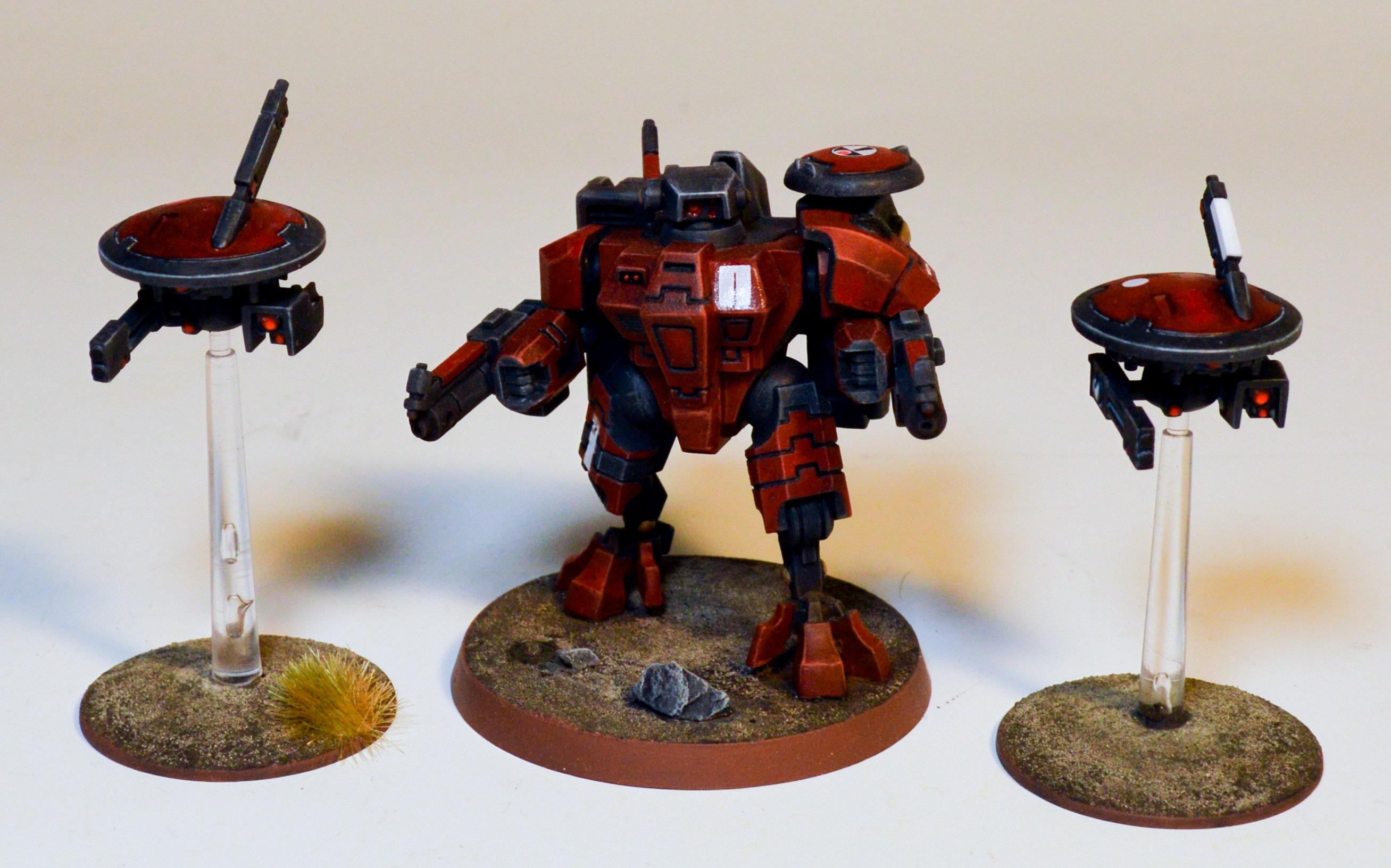 Commander Torchstar, Farsight Enclaves, T'au Empire, The Eight