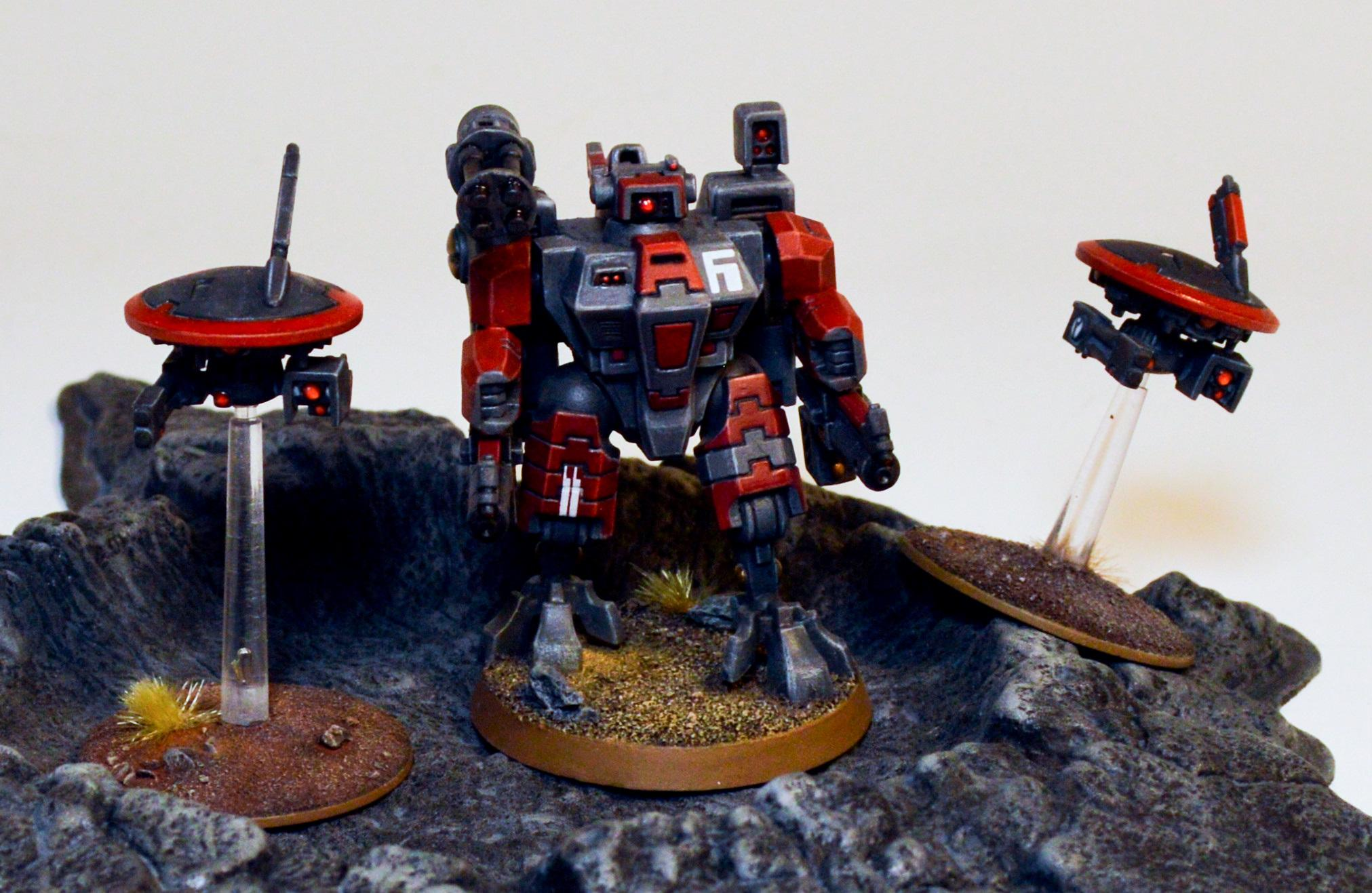 Farsight Enclaves, Sub-commander Torchstar, T'au Empire, The Eight
