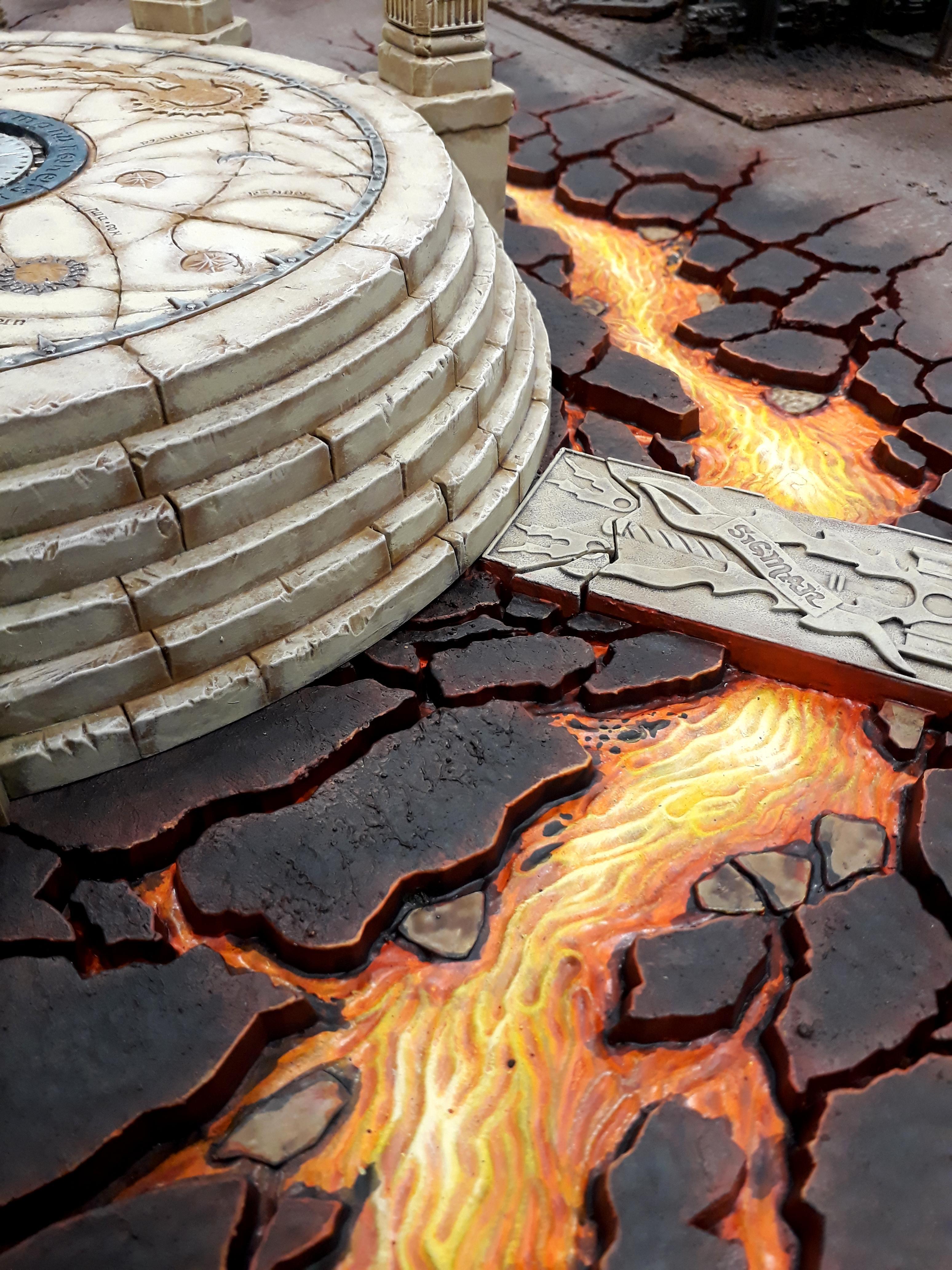 Age Of Sigmar, Temple.lava, Terrain, Warhammer Fantasy