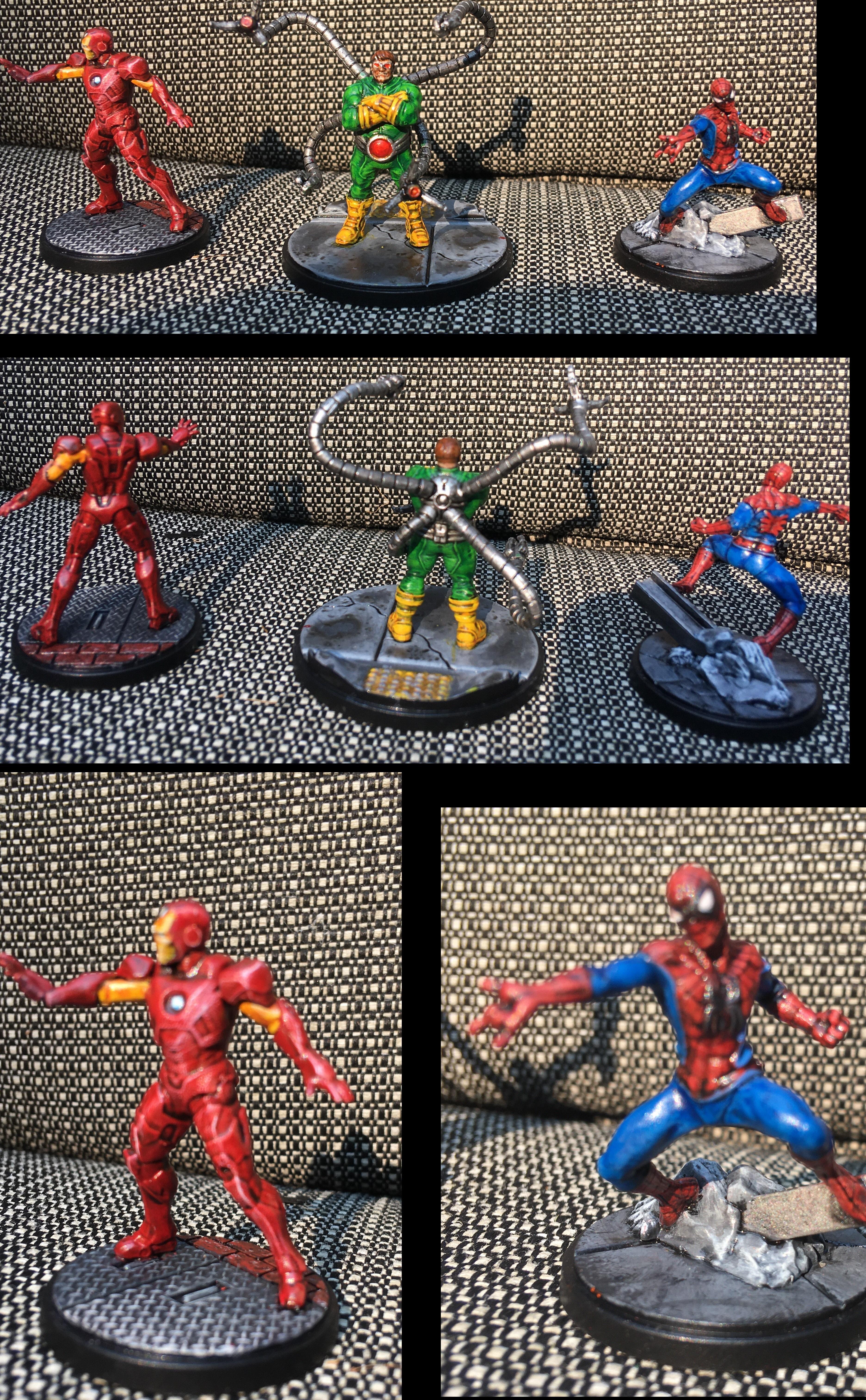 Comic, Comic Book, Doctor, Iron Man, Marvel, Octopus, Spider Man, Superhero