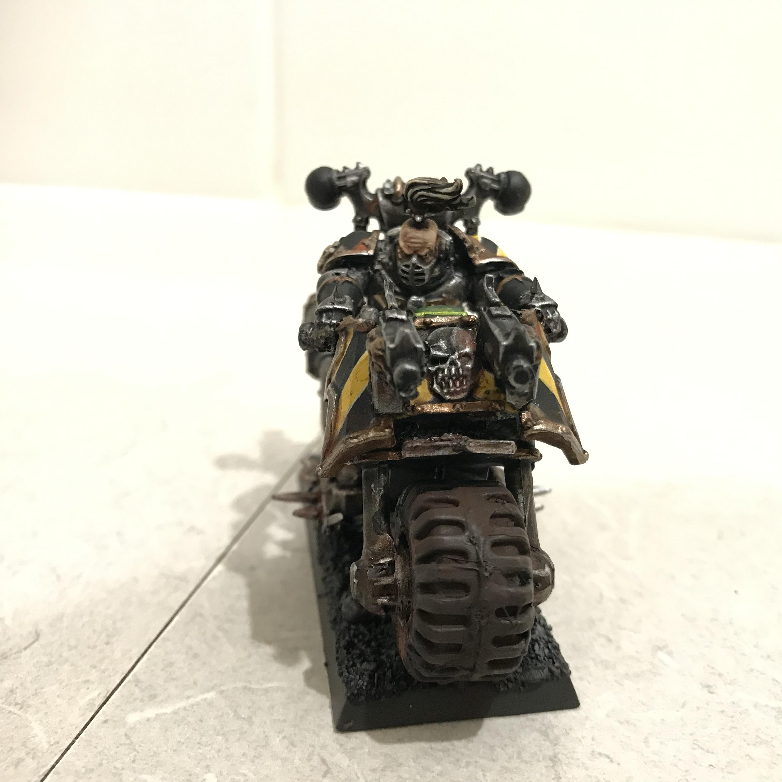 Bike, Chaos, Chaos Space Marines, Iron Warriors