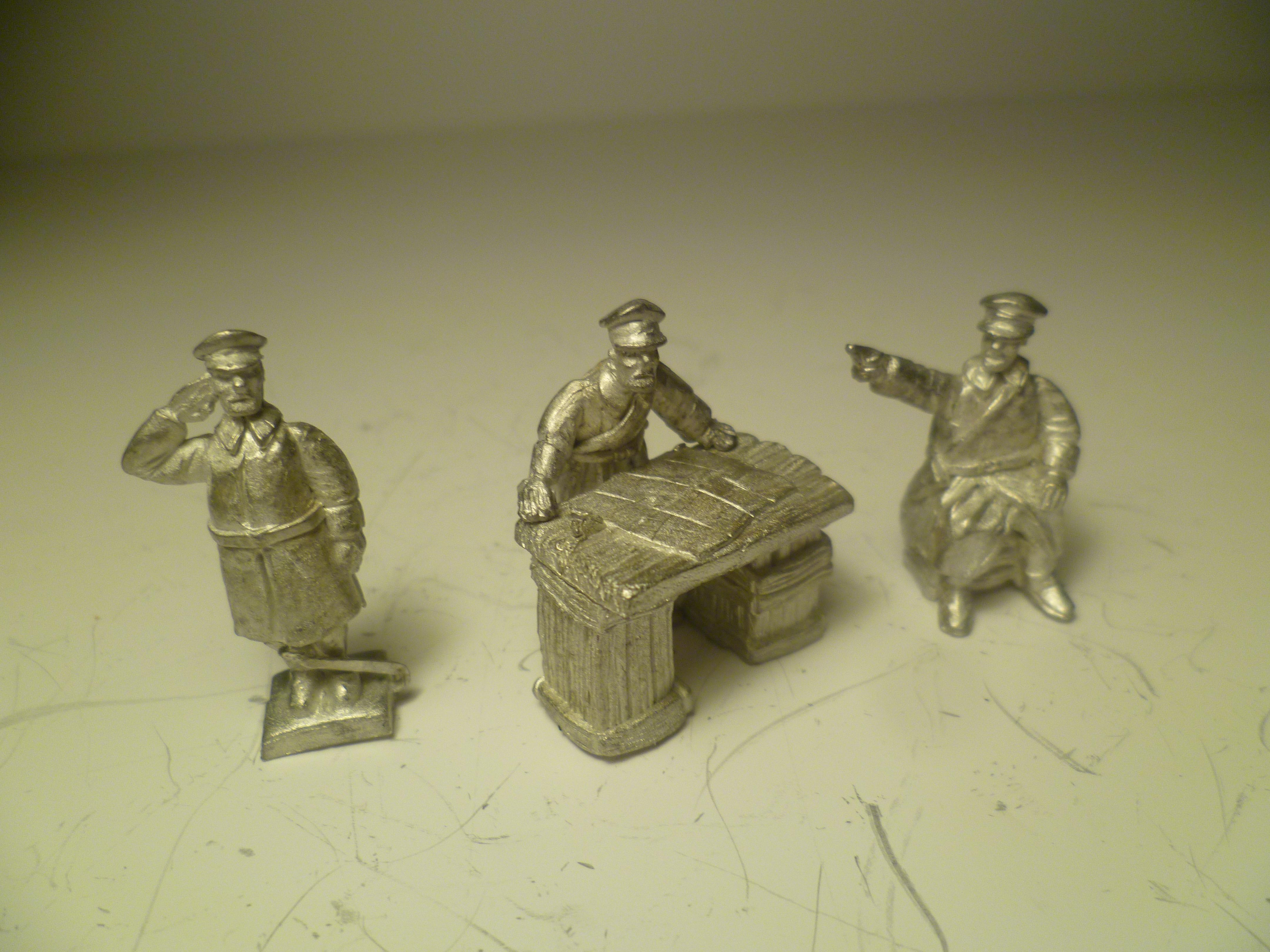 Soviet Officer Diorama