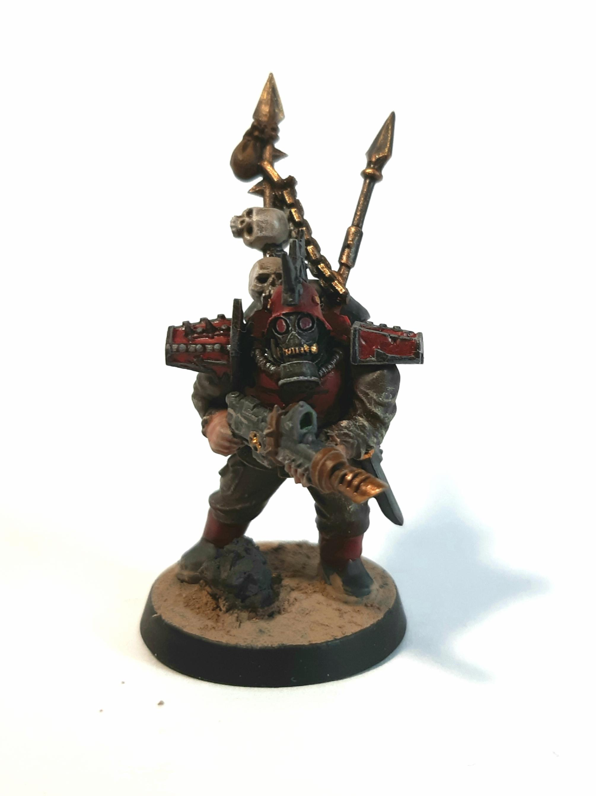 Blood Pact, Conversion, Khorne, Traitor Guard, Warhammer 40,000