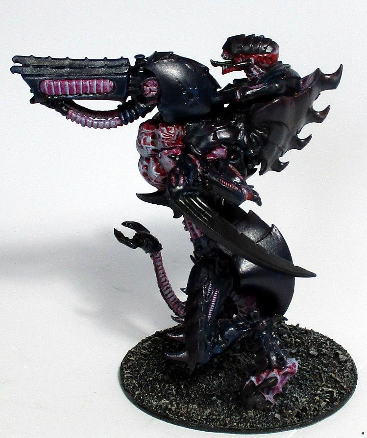 Biocontruct, Carnifex, Conversion, Hive Tyrant, Kitbash, Tyranids, Warhammer 40,000, Warhammer40000