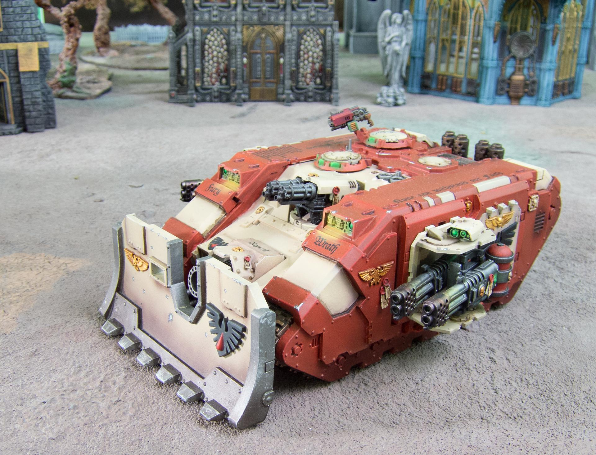 3d Print, Anycubic Photon, Astartes, Blood Ravens, Conversion, Fdm, I3 Mega, Land Raider, Land Raider Ares, Resin. Dlp, Space Marines, Vindicator