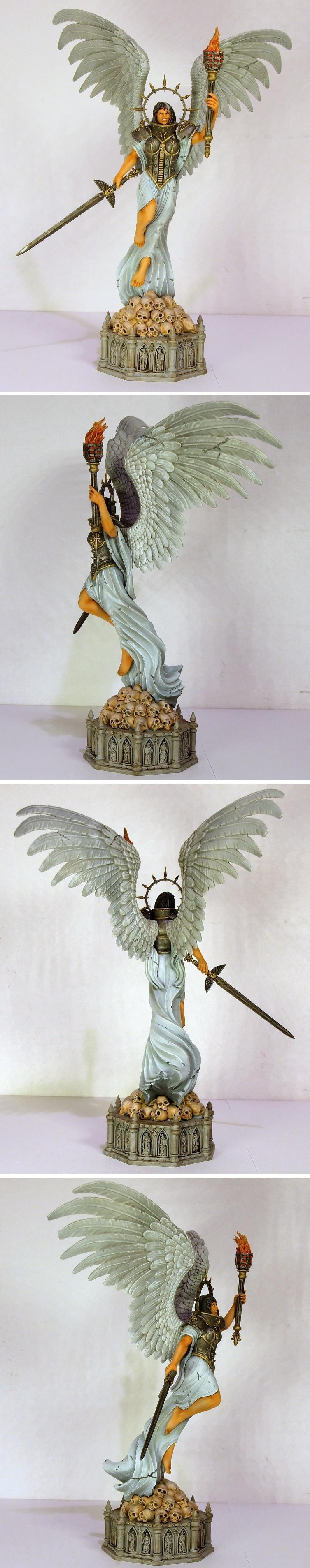 Celestine, Sisters Of Battle, Statue, Terrain, Warhammer 40,000