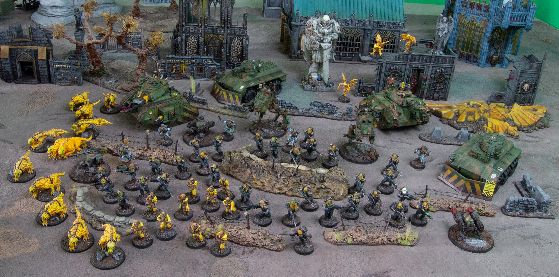 Astra Militarum, Chaos, Forge World, Imperial Guard, Renegade Guard, Traitor, Traitor Guard