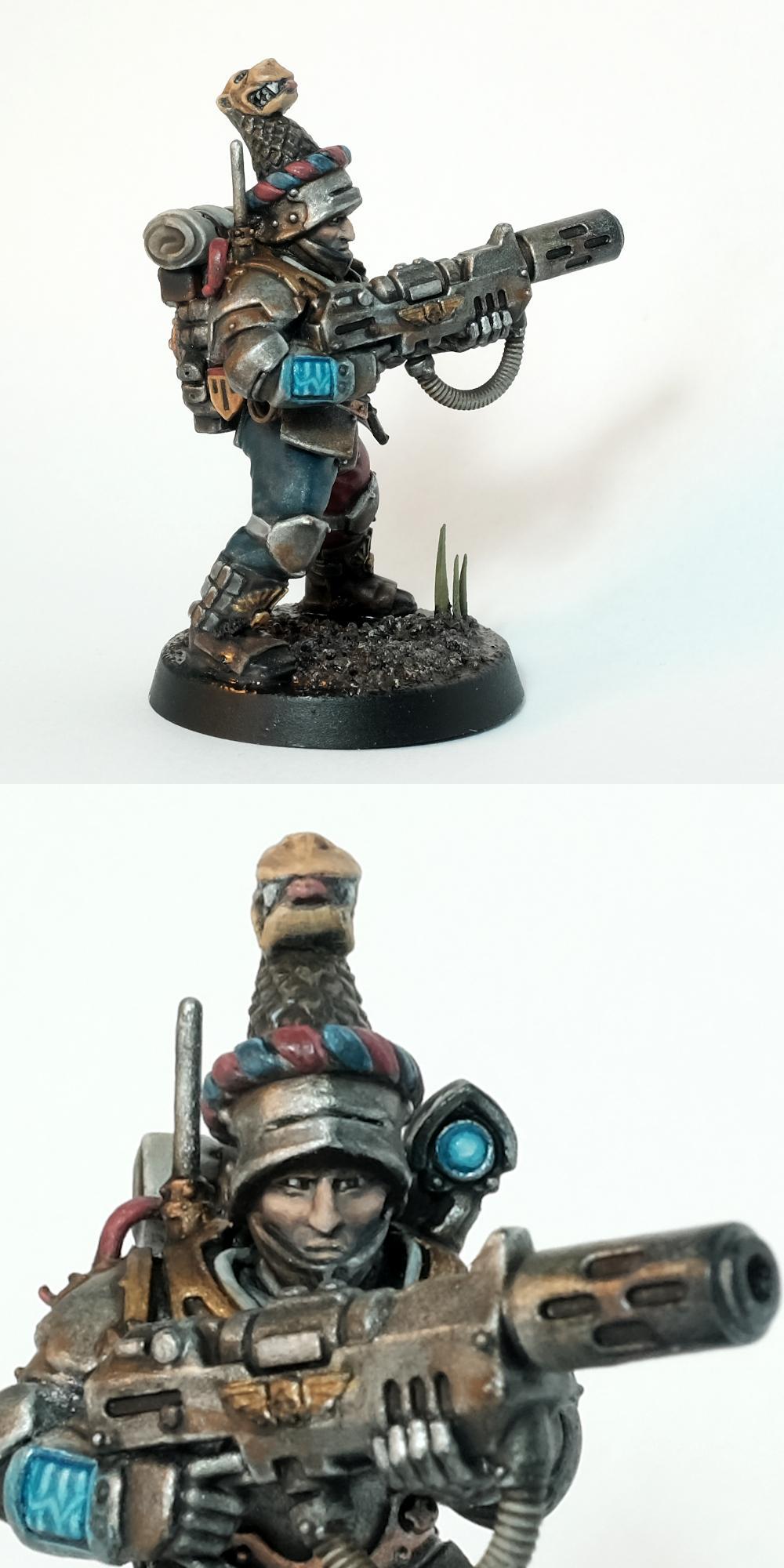 Astra Militarum, Feudal, Imperial Guard, Infantry, Warhammer 40,000