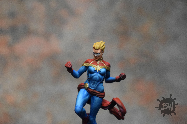 Bw, Captain Marvel, Marvel, Marvel Crisis Protocol