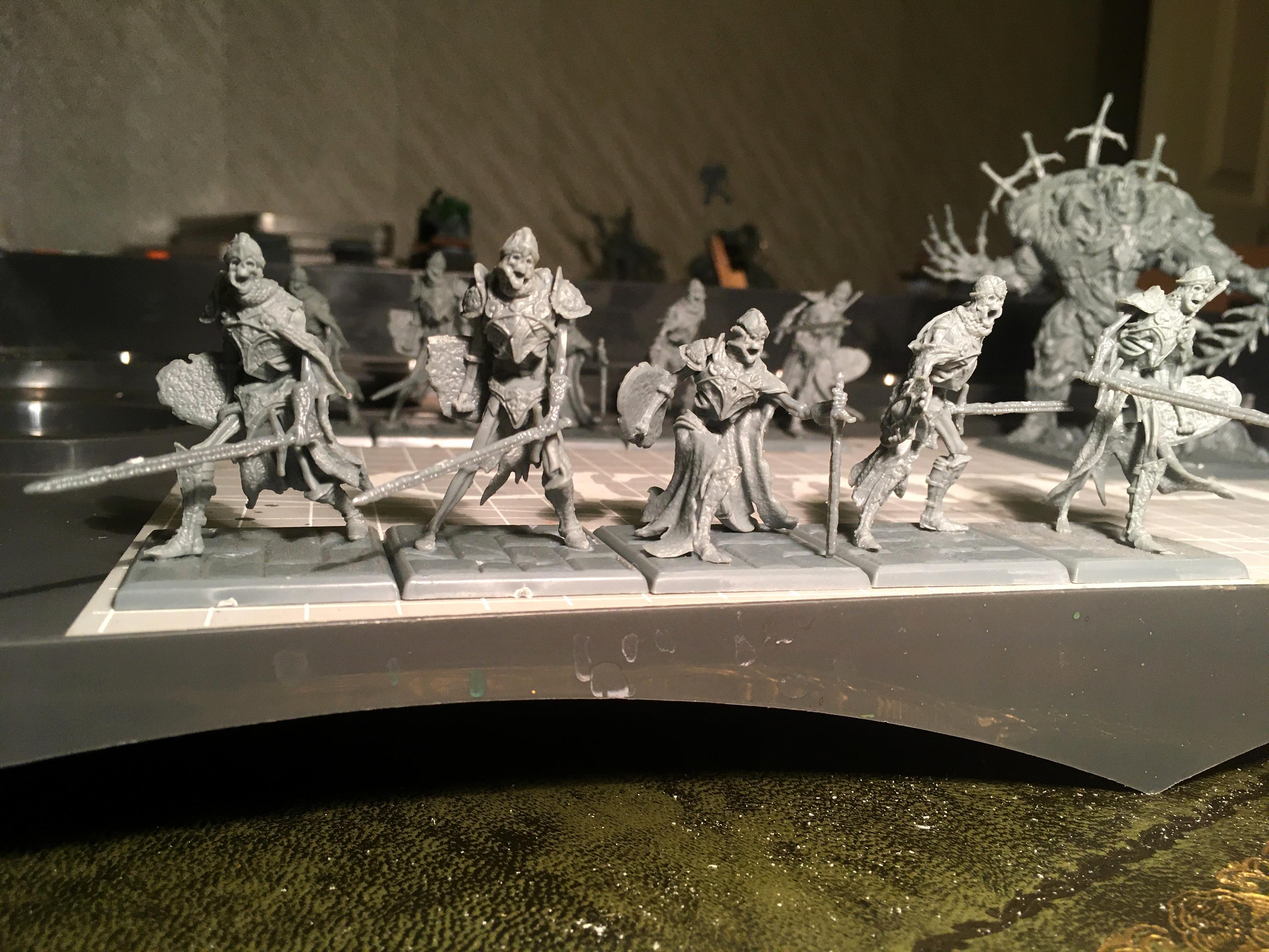 Dark, Limbo, Ossilyte Guard, Undead, Work In Progress