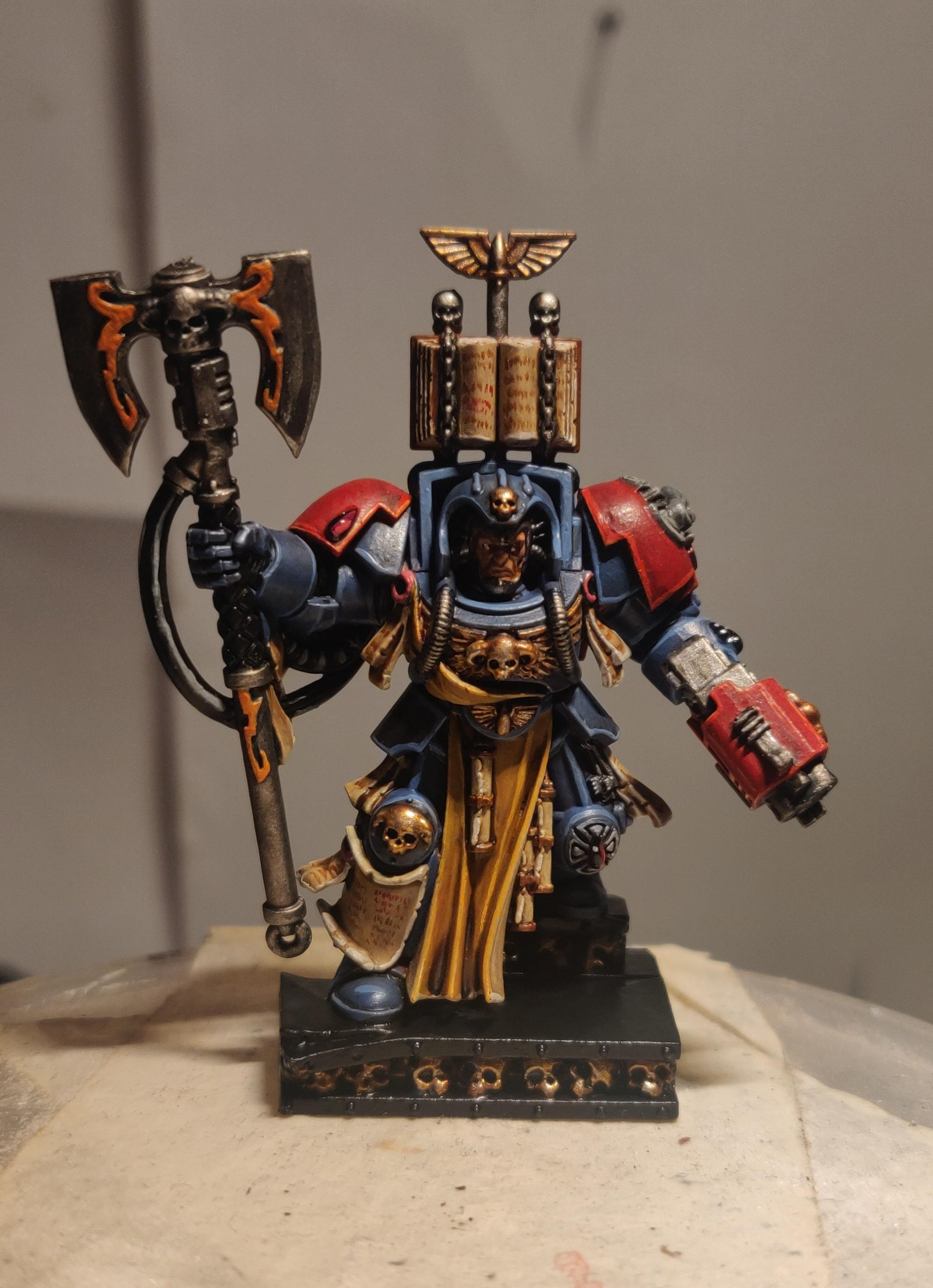Blood Angels, Brother Librarian Calistarius, Space Hulk