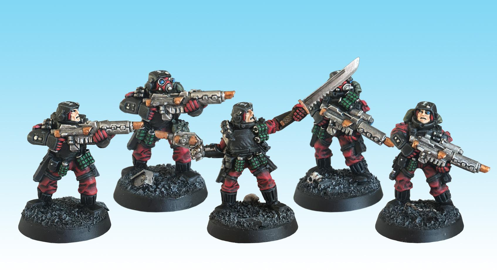 Adepta Sororitas, Inquisition, Inquisitorial Stormtroopers, Old Hammer, Order Of Our Martyred Lady, Painted, Sisters Of Battle, Squad, Storm Troopers, Warhammer 40,000