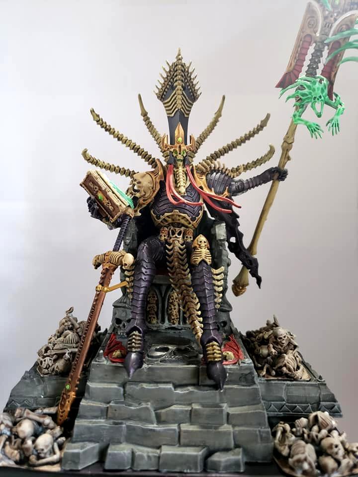 Nagash, Throne, Undead, Warhammer Fantasy
