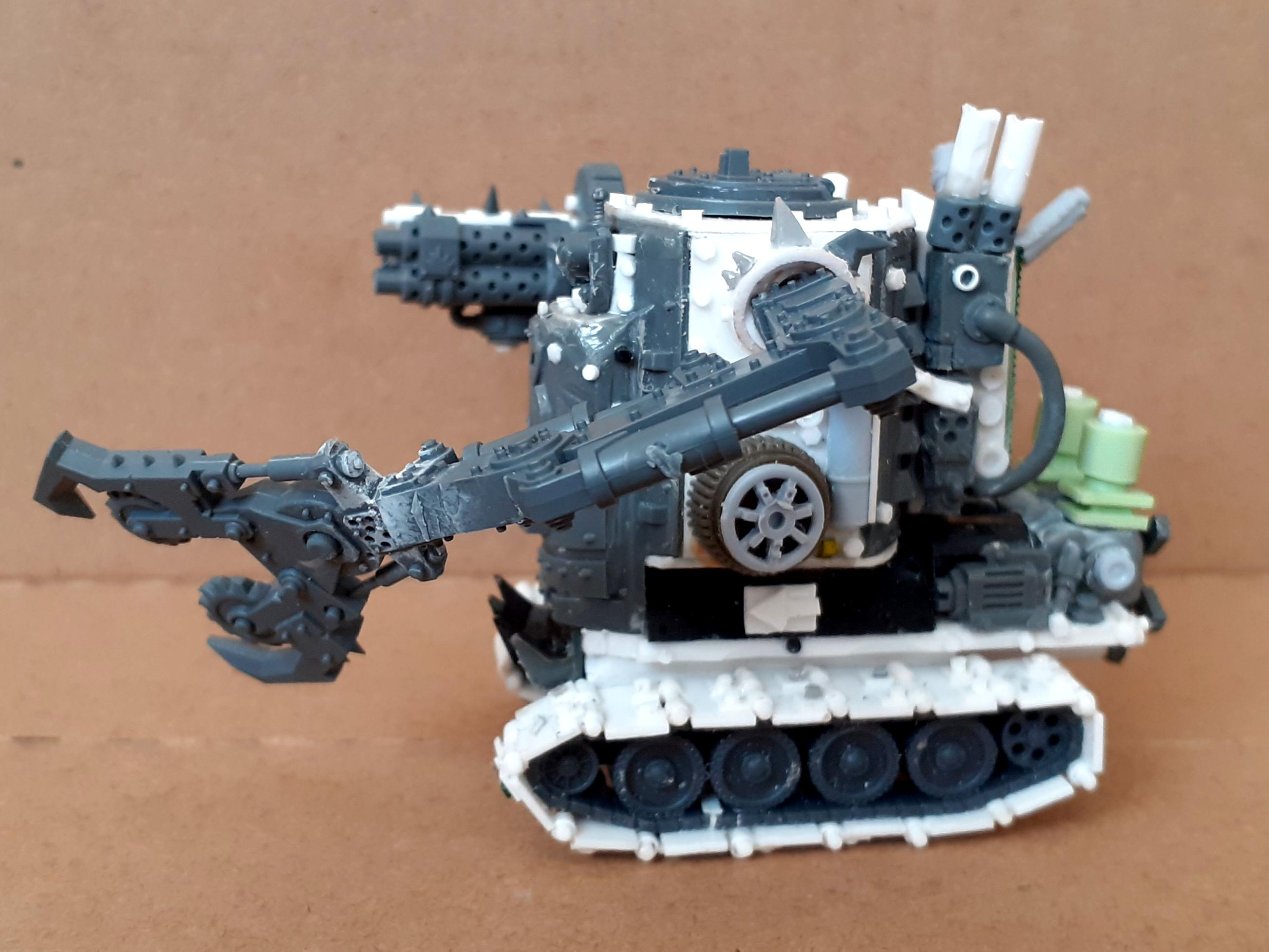 Conversion, Grot Conversion, Grot Tank, Grots, Killa Kan, Kitbash, Kitbashed, Ork Conversions, Ork Coustom Made Vehicratch Builcles, Orks, Scratch Build, Sd