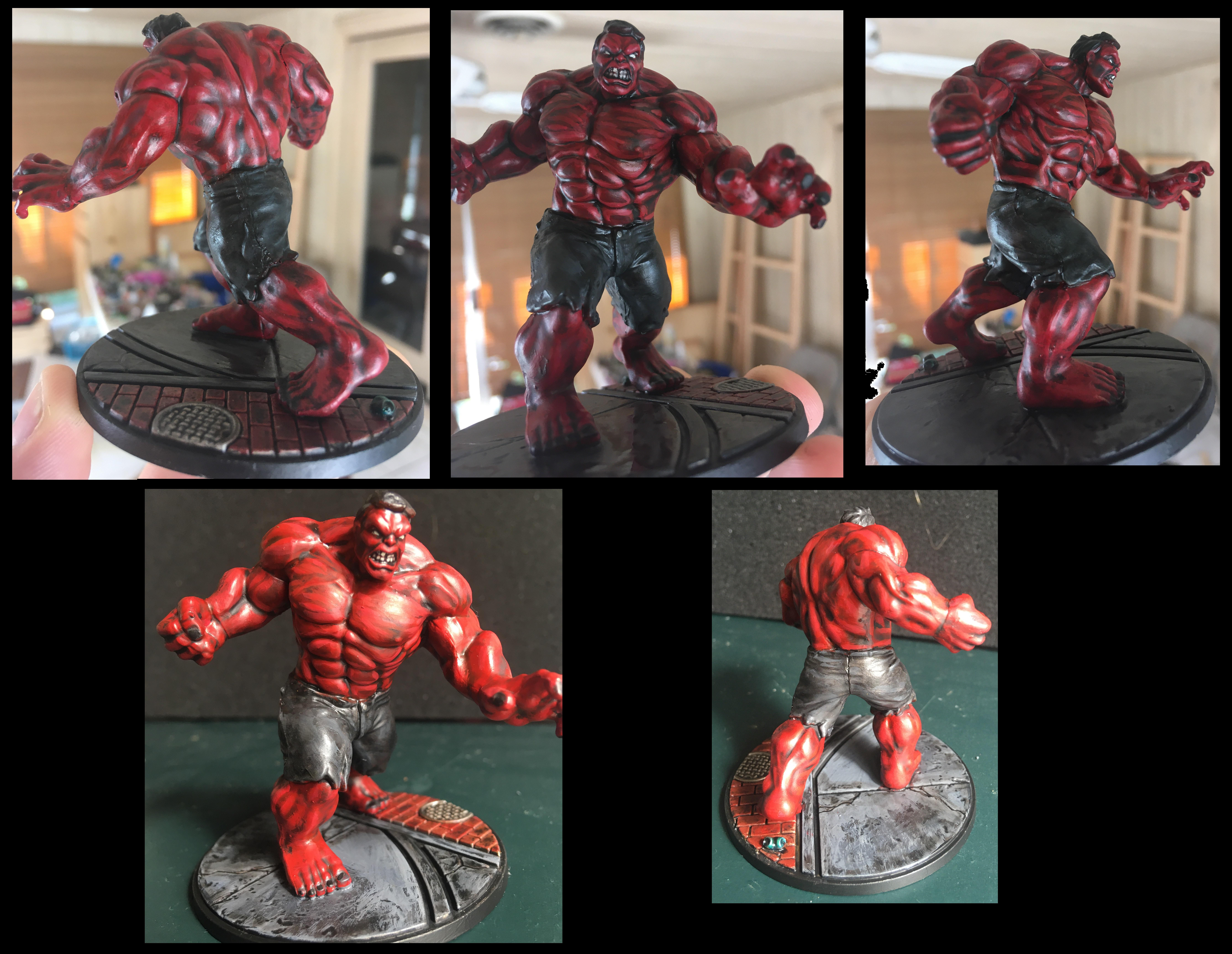 Comic, Crisis Battlesuit, General Ross, Hulk, Marvel, Protocol, Red Hulk, Thunderbolt
