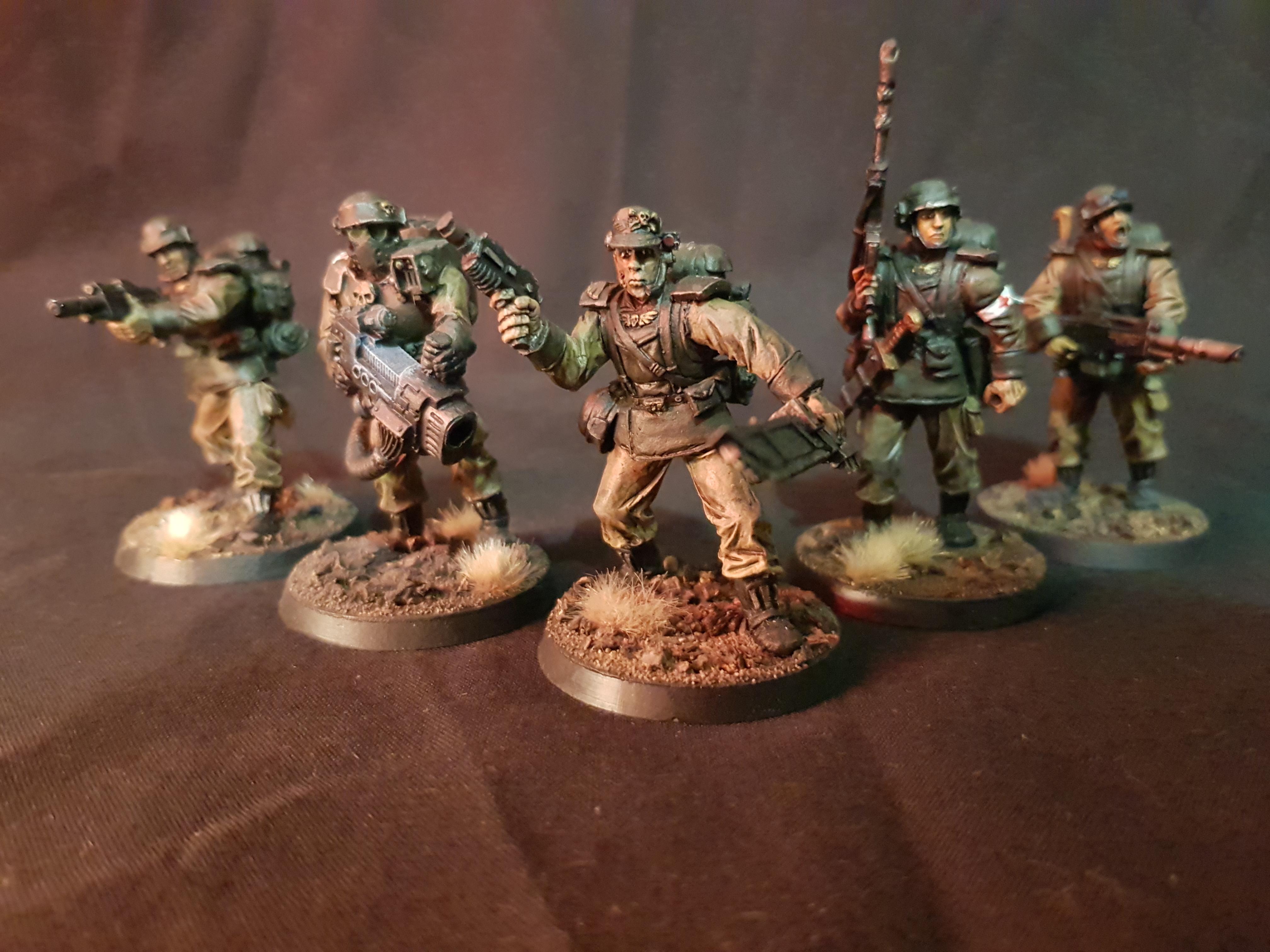 54mm, Alternate, Astra Militarum, Custom, Imperial Guard, Infantry, Inquisitor, Medic