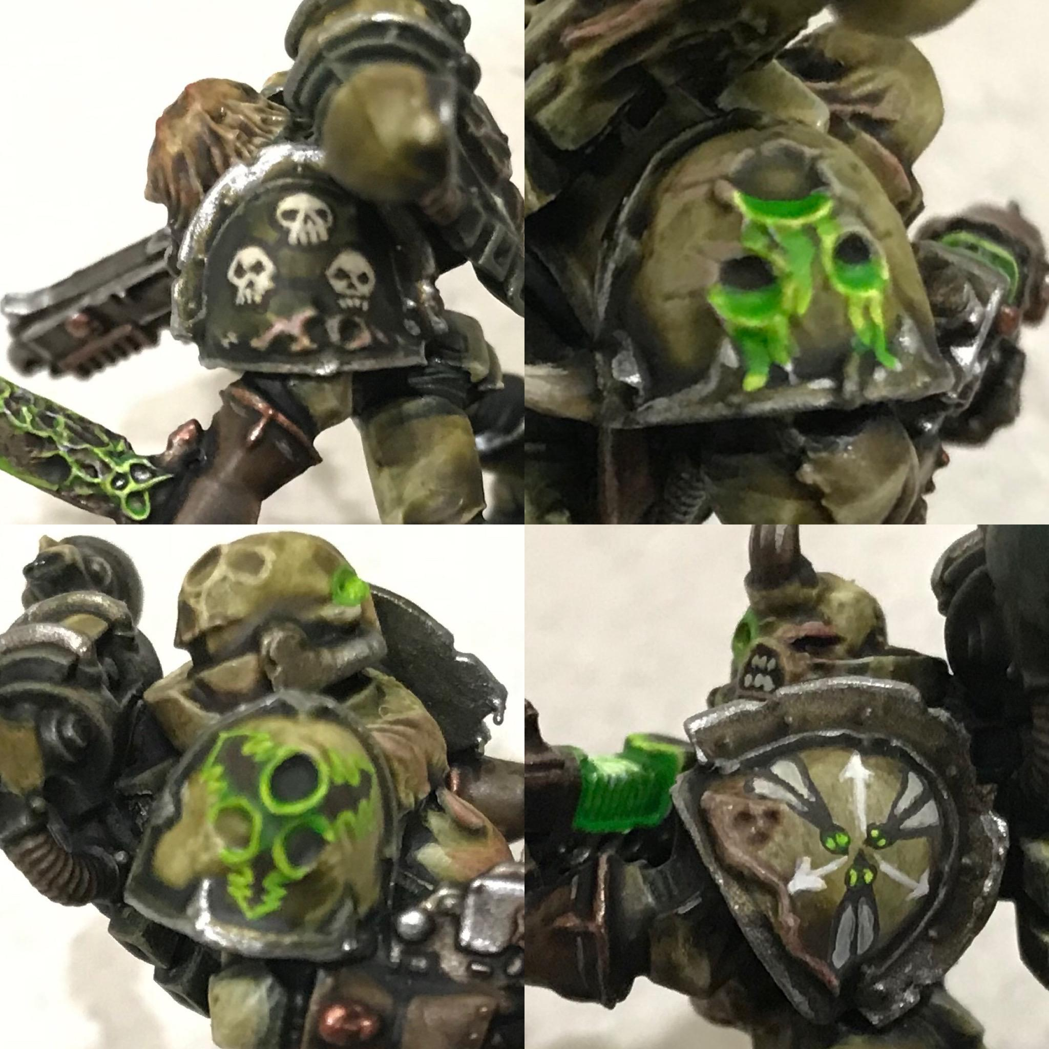 2020, Chaos Space Marines, Freehand, Plague Marines