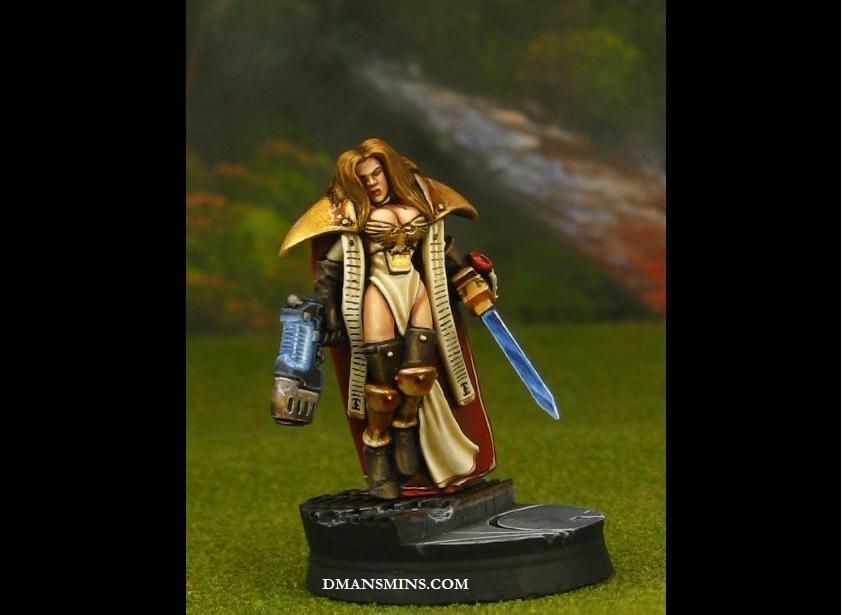 Conversion, Female, Inquisitor, Warzone