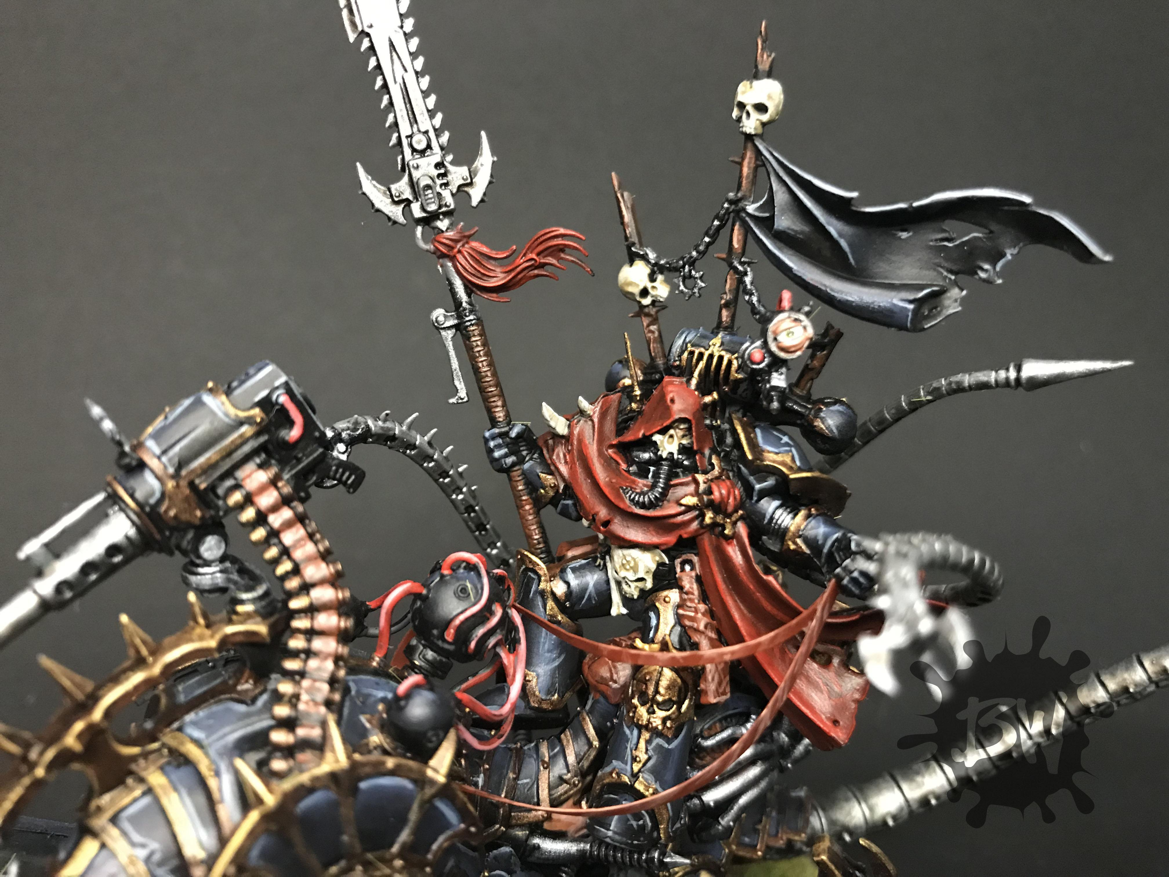 Bawpainting, Chaos, Commission, Games Workshop, Painting, Vex Machinator Arch-lord Discordant, Warhammer 40,000, Warhammer Fantasy