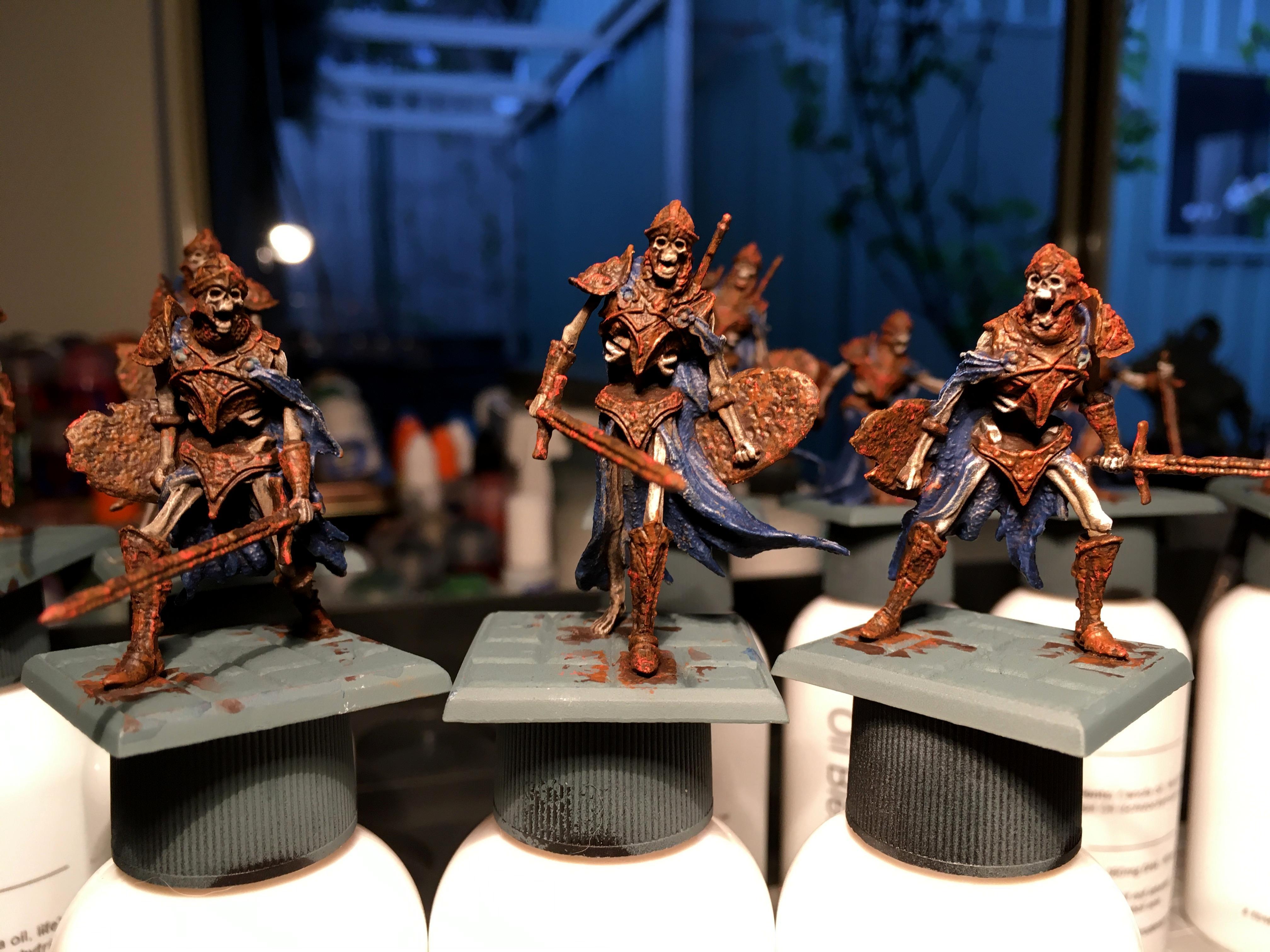 Dark, Limbo, Ossilyte Guard, Pip, Undead
