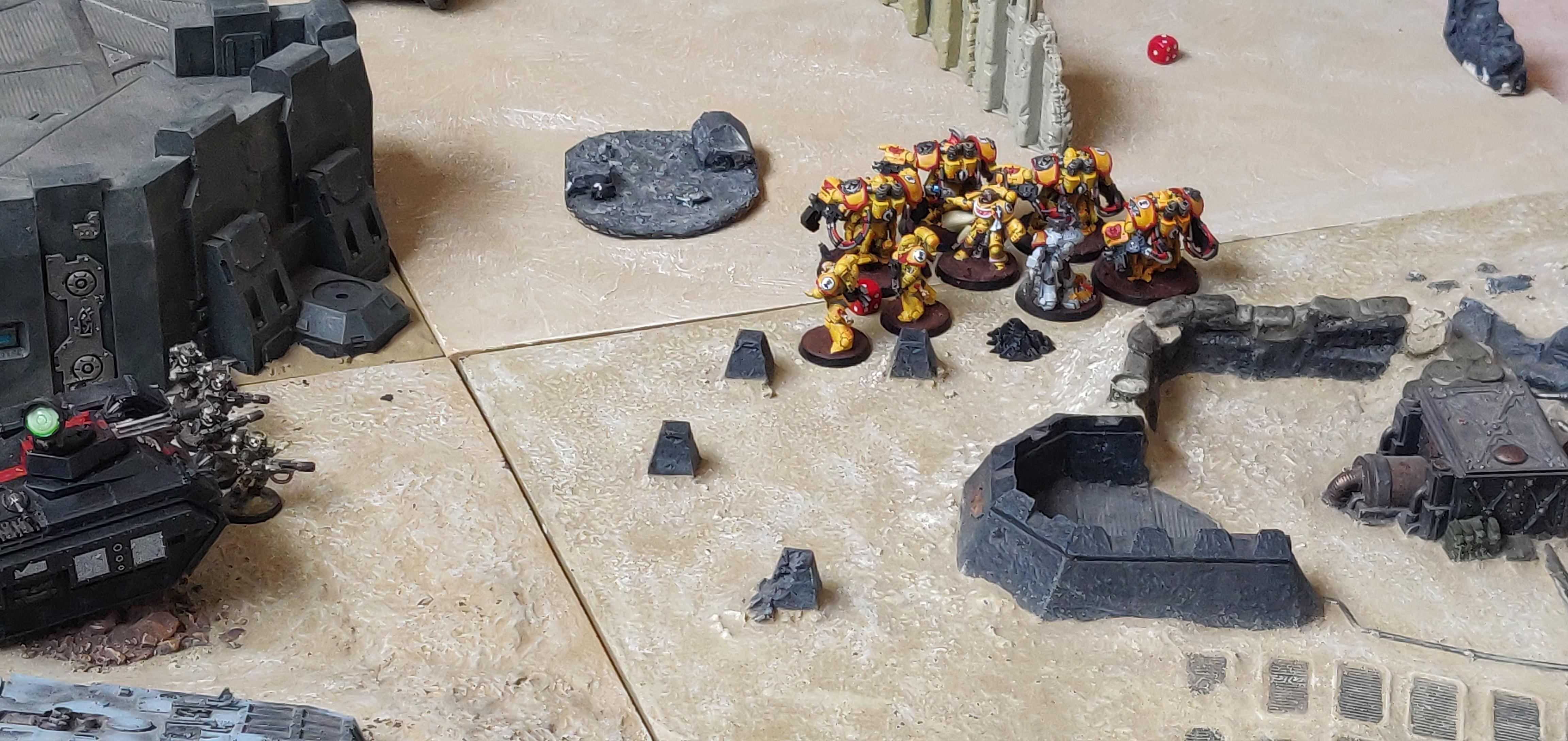Battle Report, Battle Report Pictures, Imperial Fists, Imperial Guard