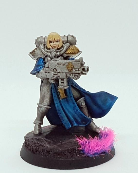 Blonde, Silver, Sisters Of Battle