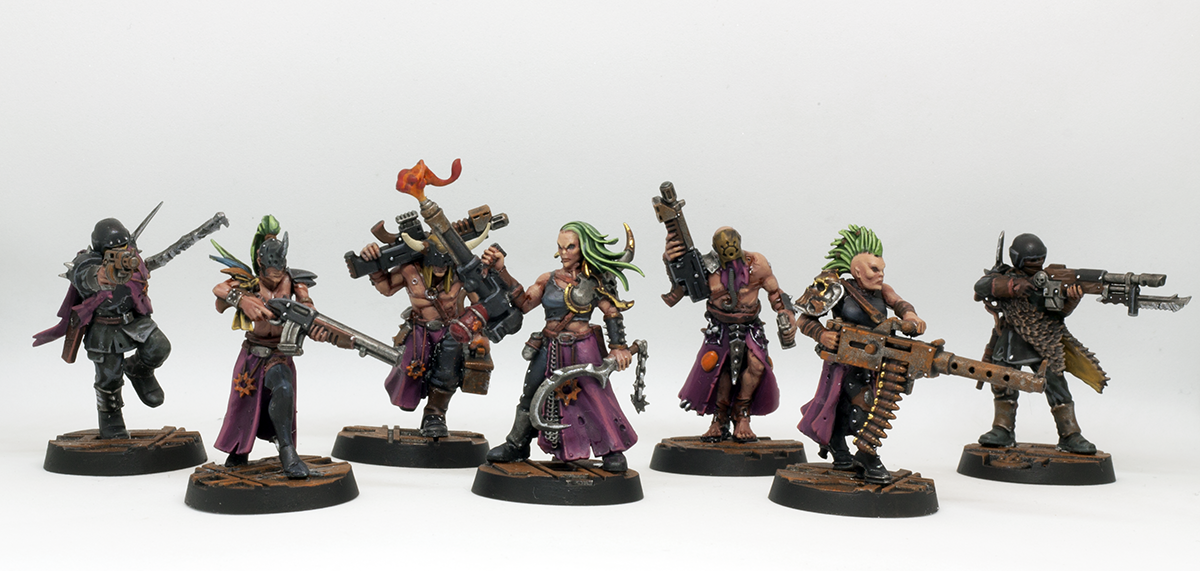 Autogun, Champion, Chaos, Cultists Of The Abyss, Flamer, Gang, Gangers, Guardsmen, Heavy Stubber, Lasgun, Necromunda, Purple, Rust, Servants Of The Abyss, Sexy, Traitor