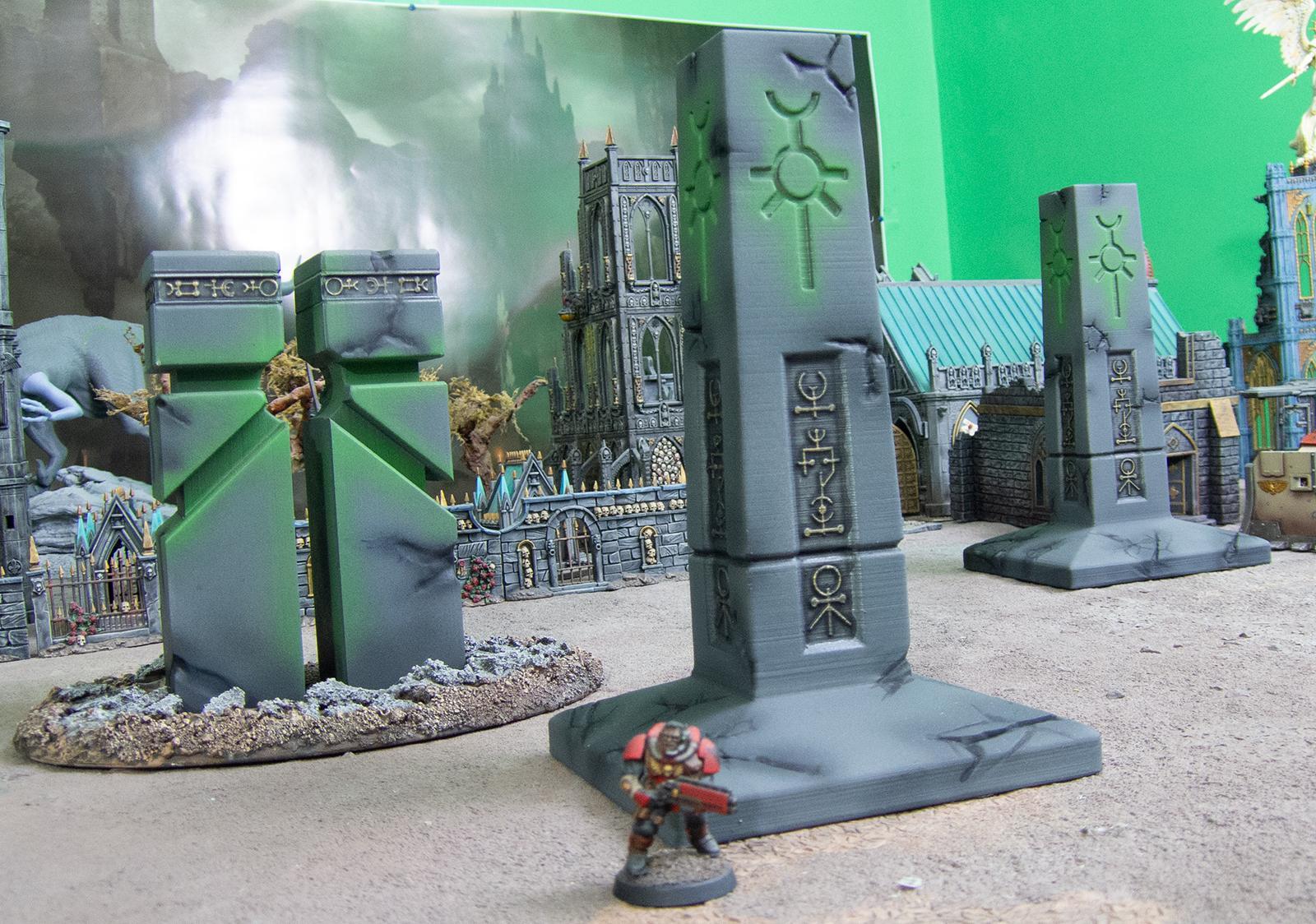3d Print, 3d Printing, Base, Dawn Of War, Fdm, I3 Mega, Necrons