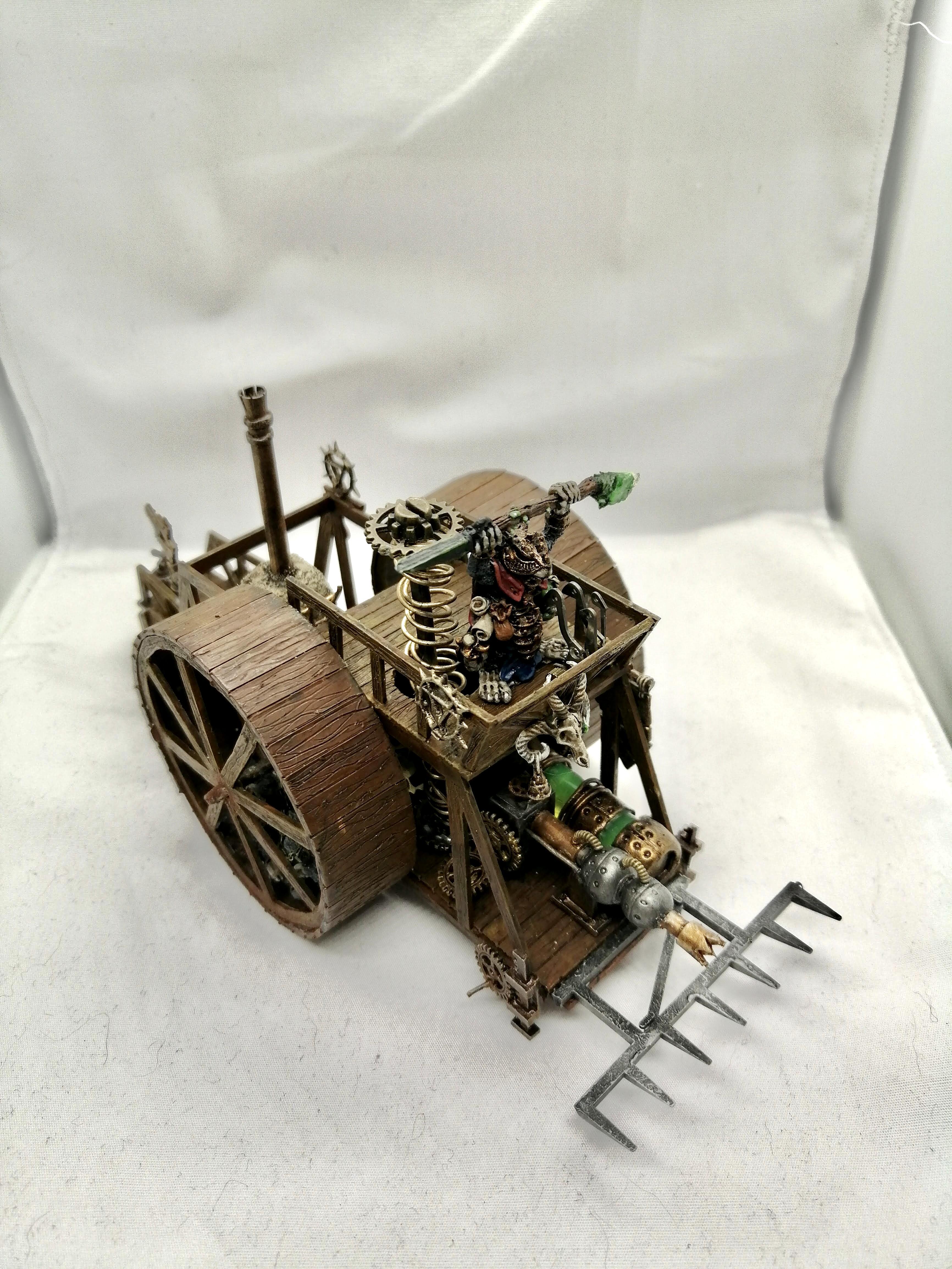 Oldhammer, Scratch Build, Skaven, Skryre, Warhammer Fantasy