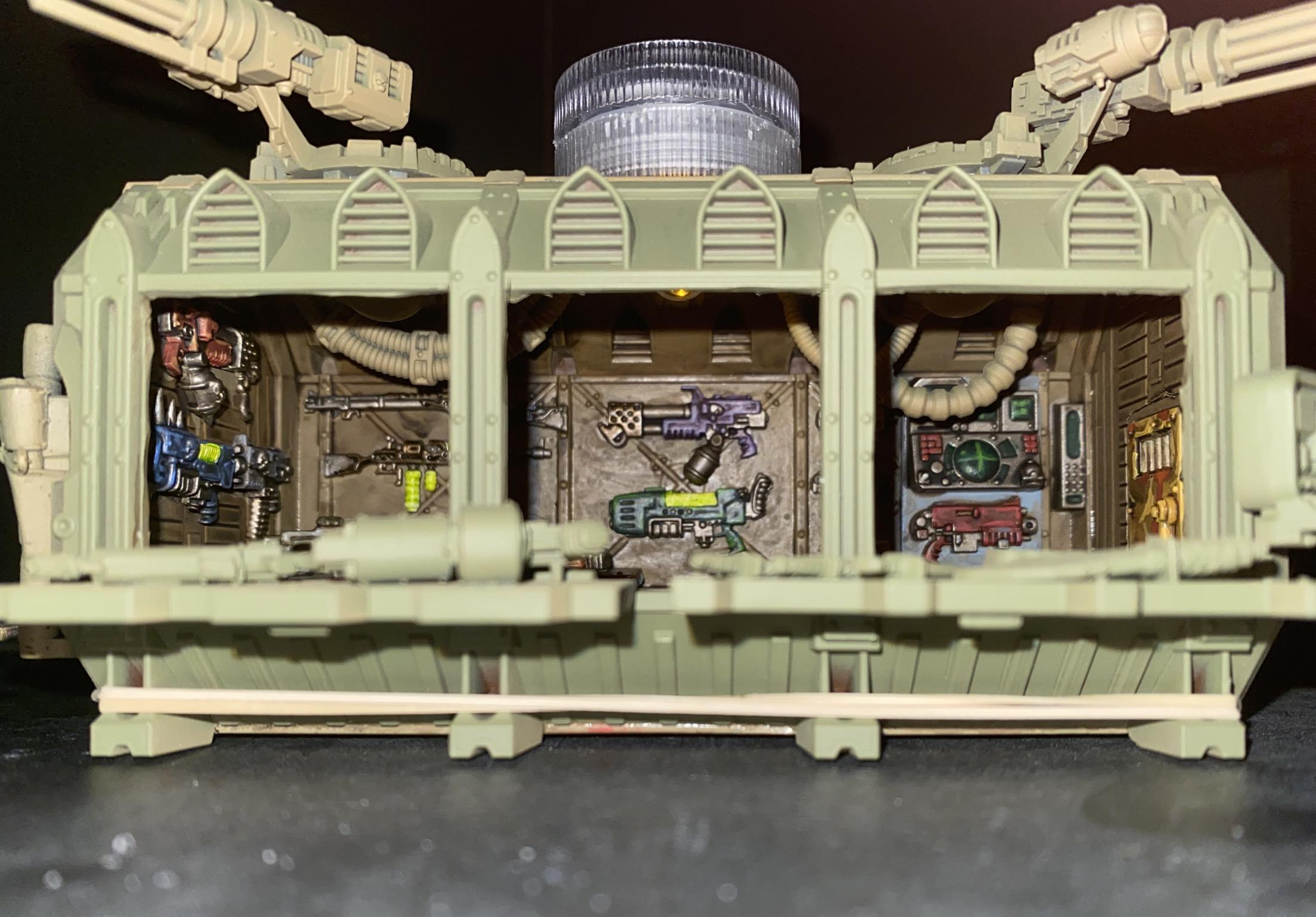 Container, Depot, Weapon